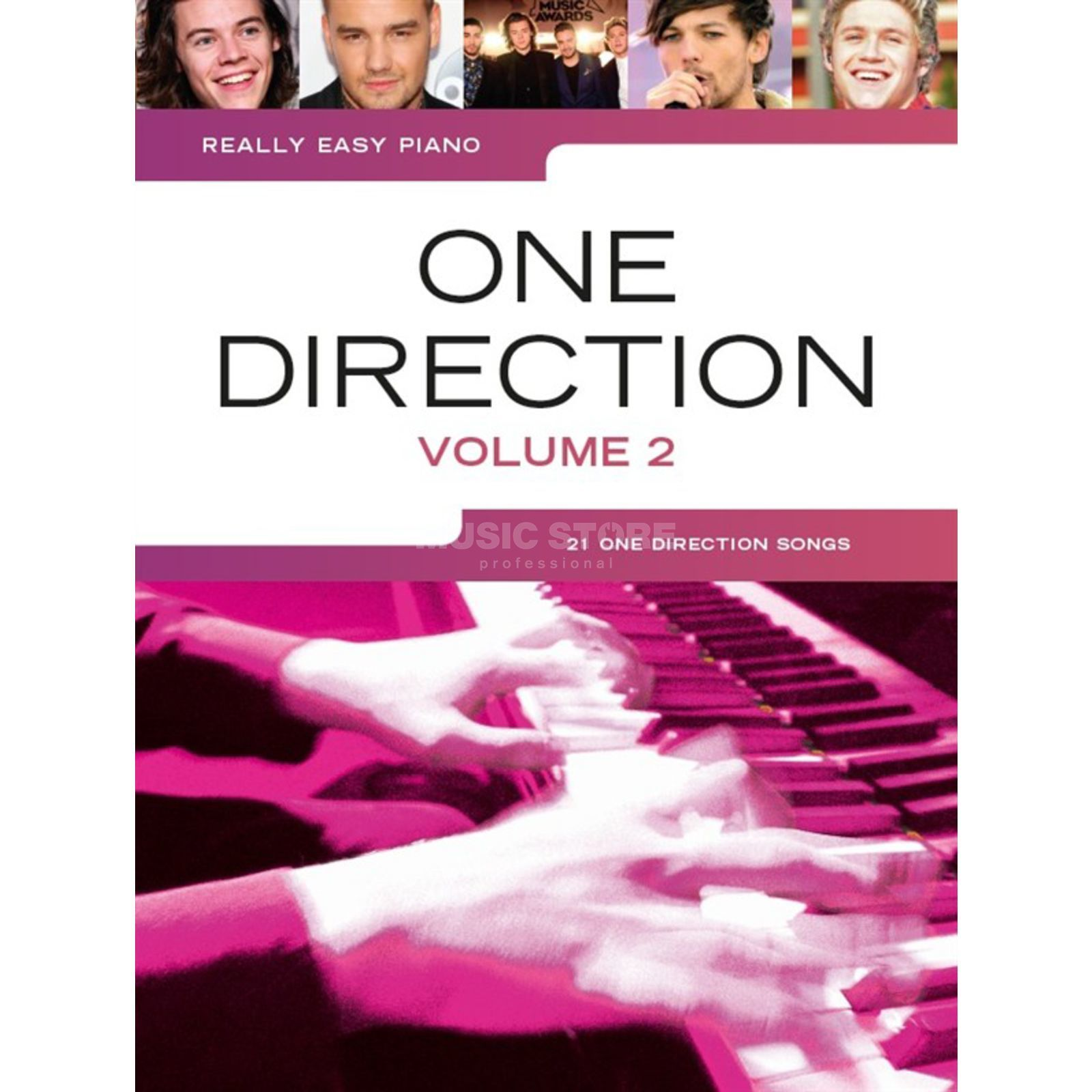 Wise Publications Really Easy Piano: One Direction - Volume 2 Produktbillede