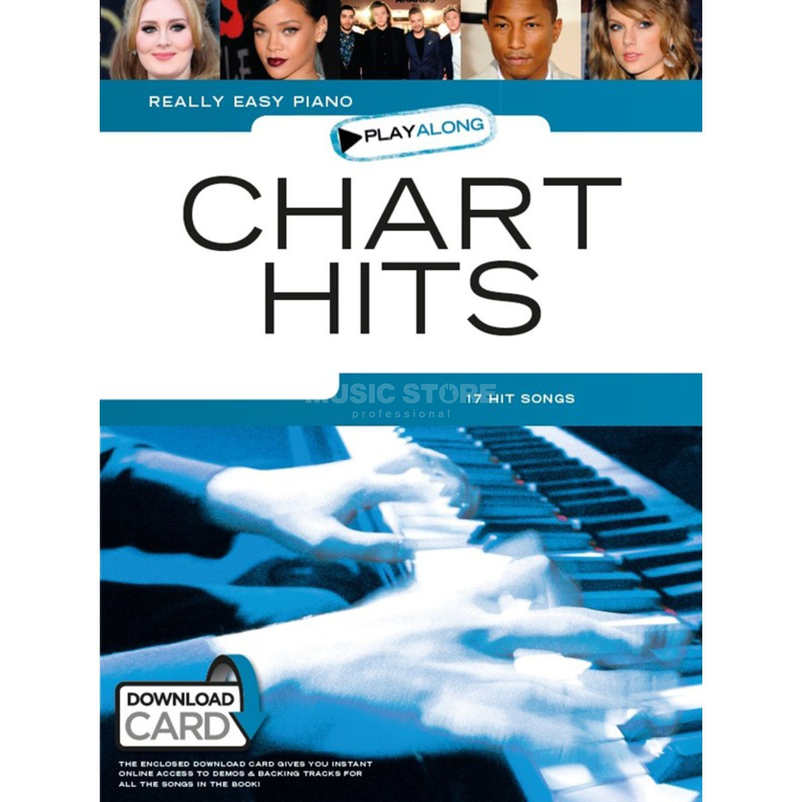 Wise Publications Really Easy Piano Playalong: Chart Hits mit Download Produktbillede