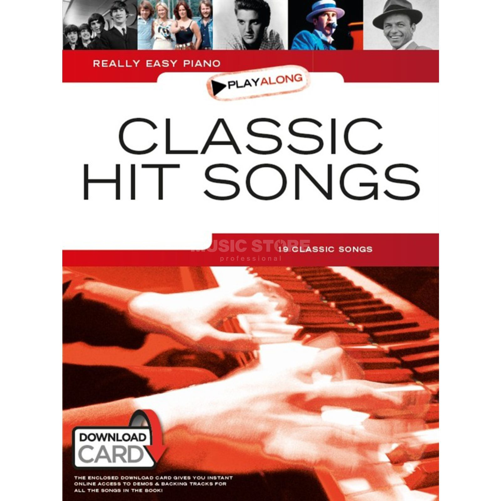 Wise Publications Really Easy Piano Playalong: Classic Hit Songs mit Download Produktbild