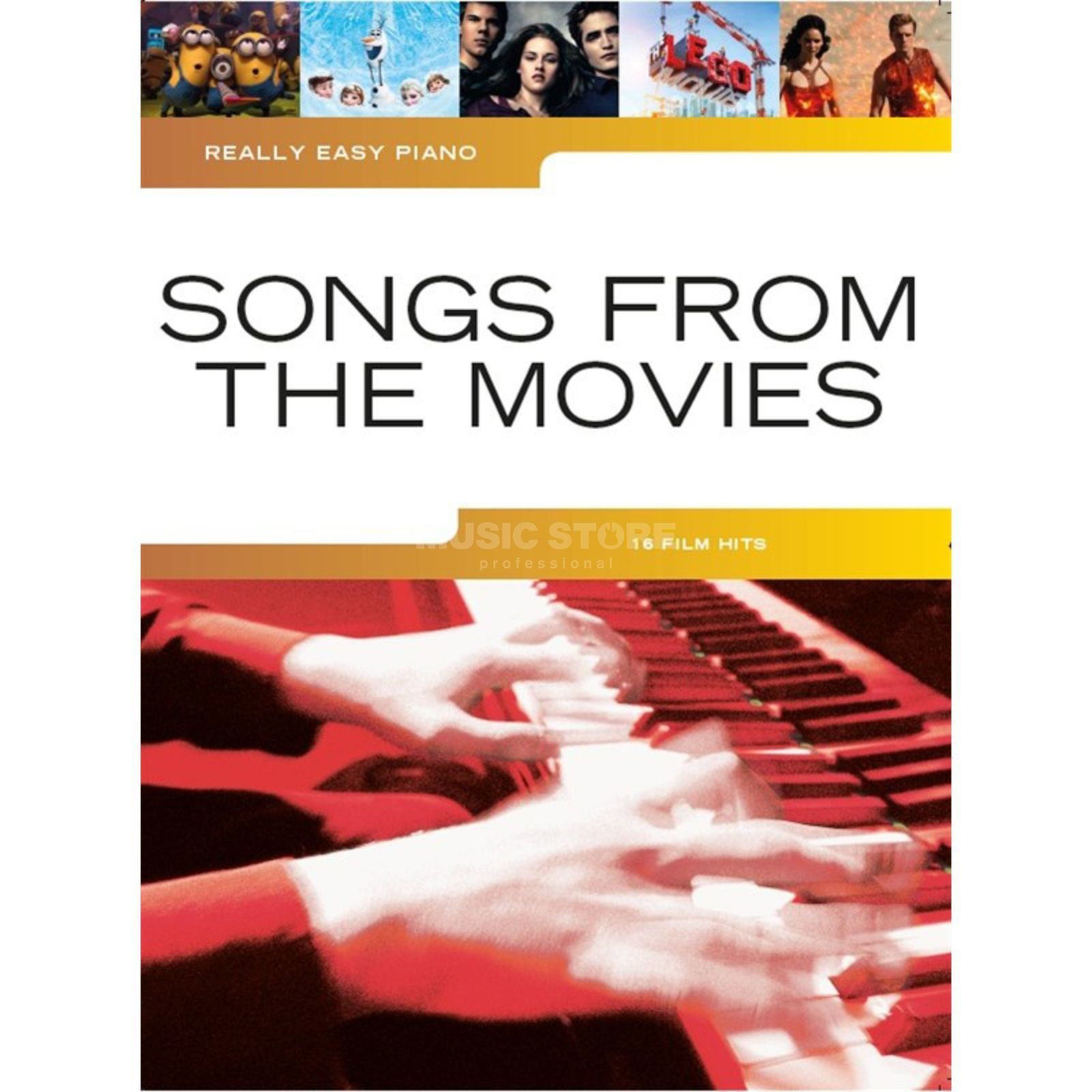 Wise Publications Really Easy Piano: Songs From The Movies Produktbillede