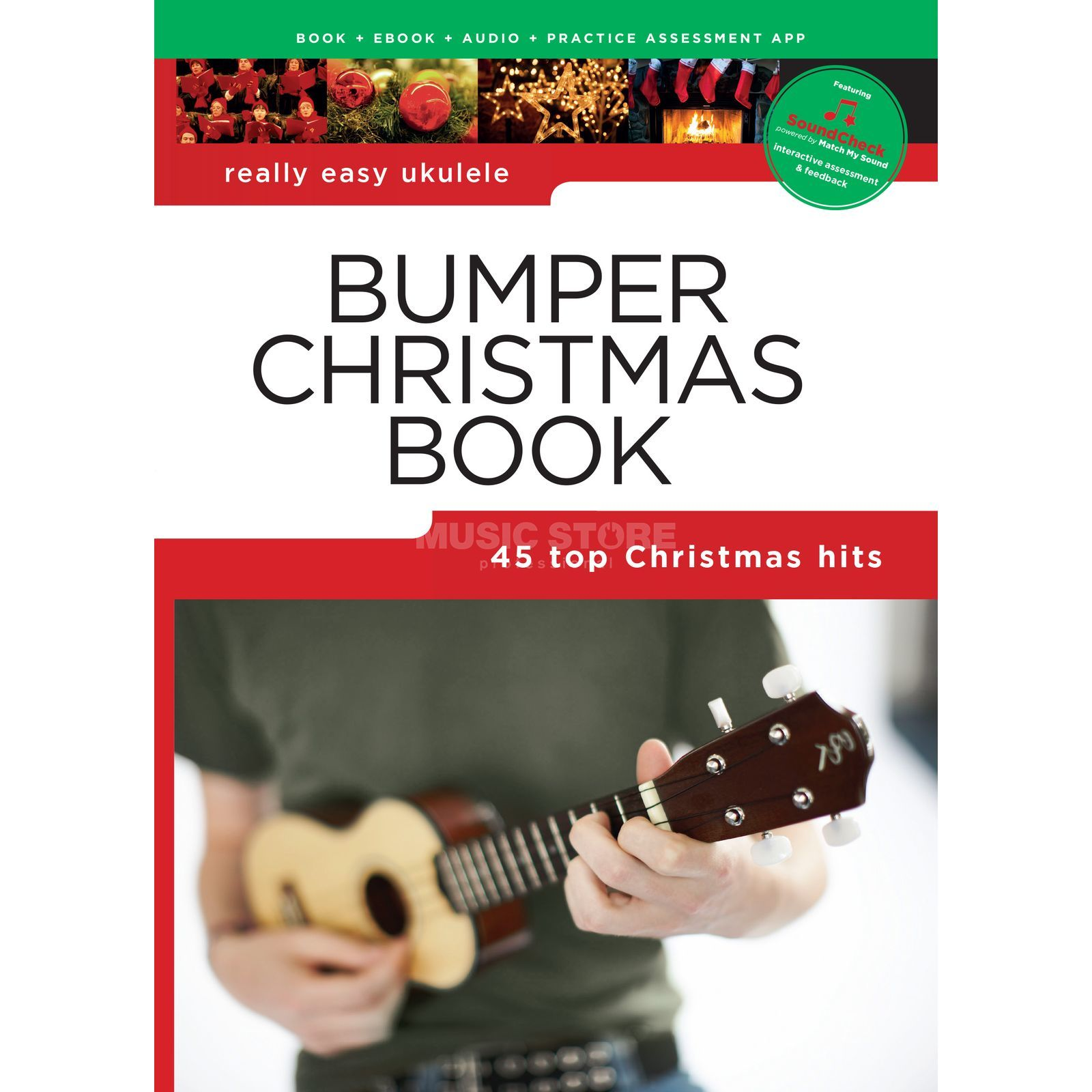 Wise Publications Really Easy Ukulele: Bumper Christmas Book