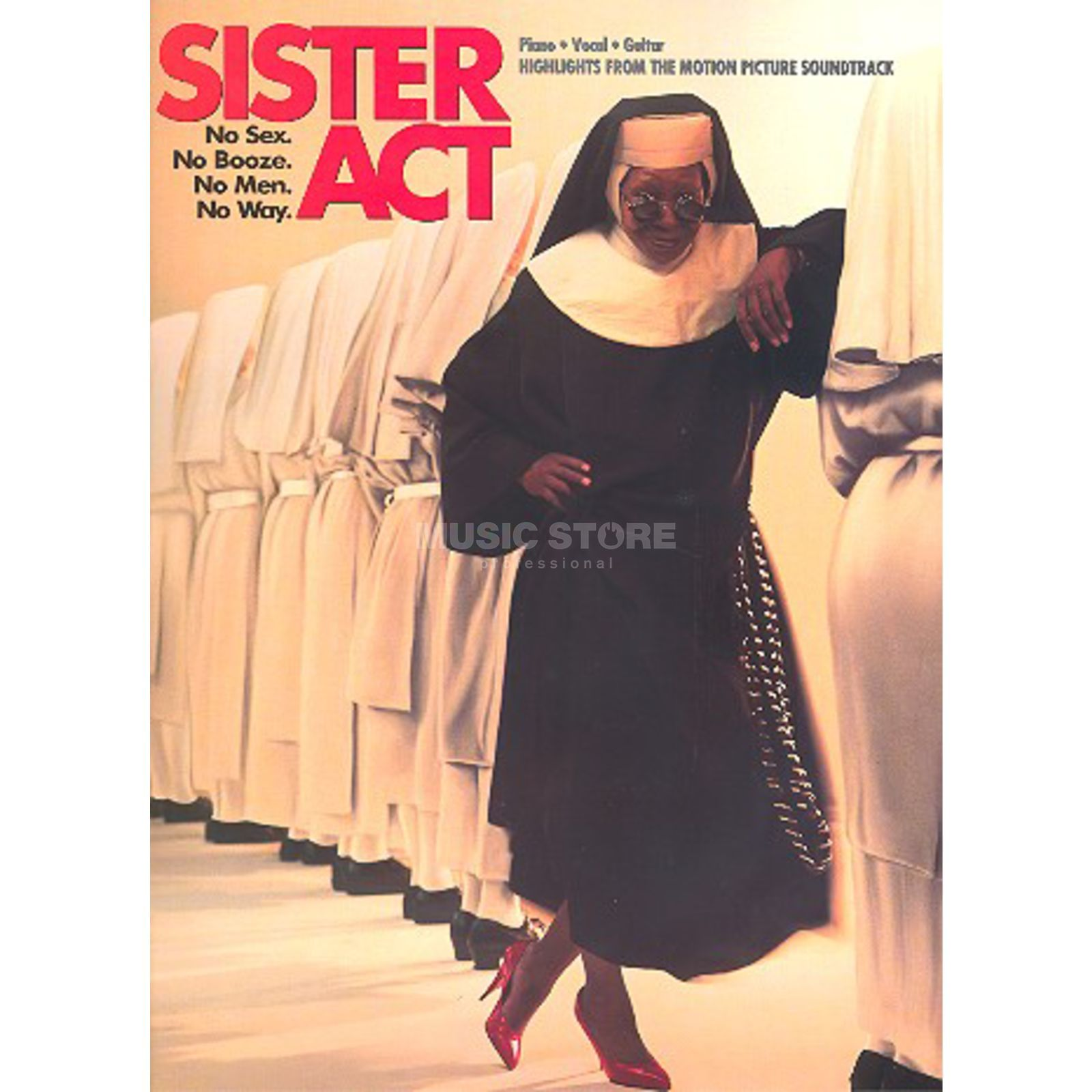 Wise Publications Sister Act - Vocal Highlights Produktbild