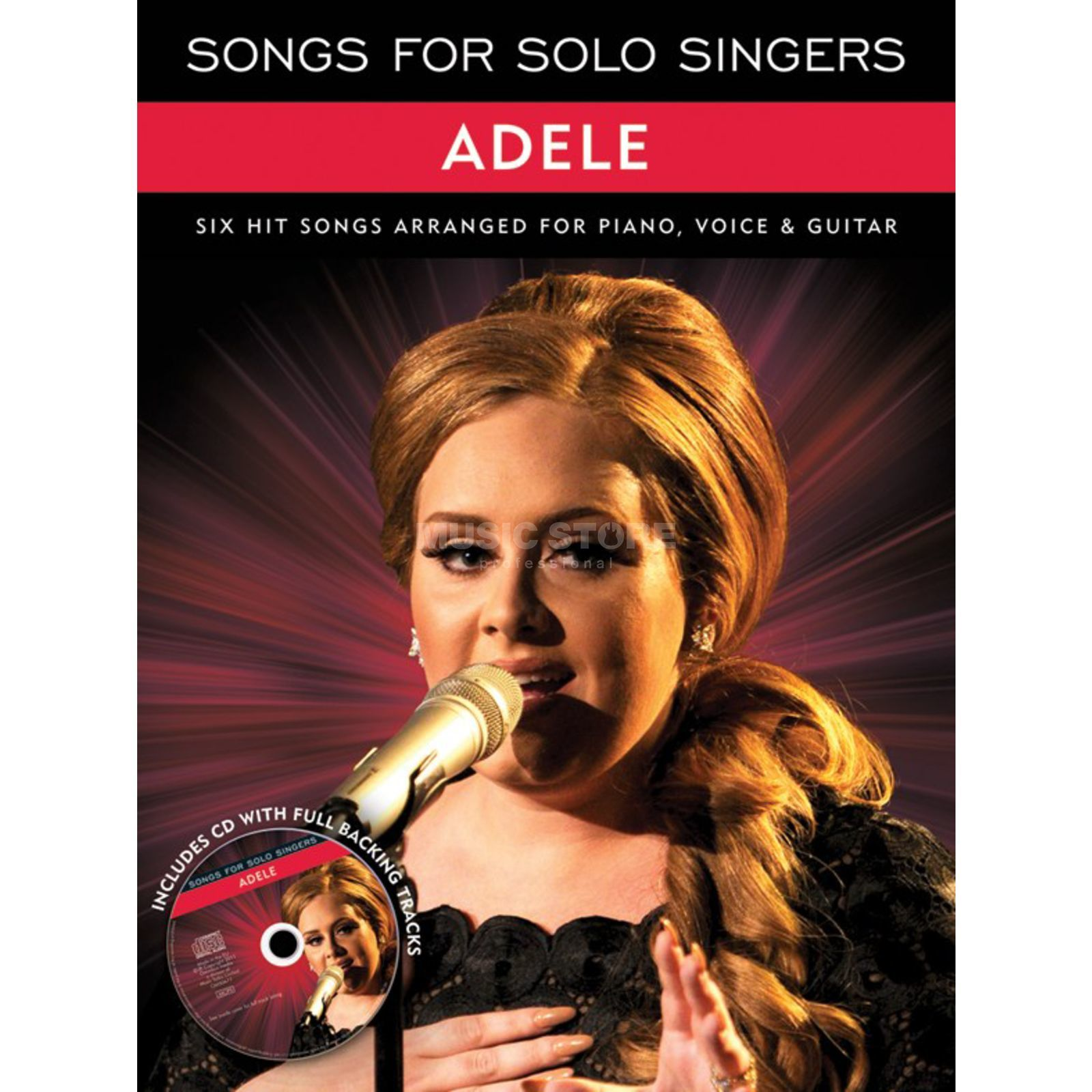 Wise Publications Songs For Solo Singers: Adele Produktbild