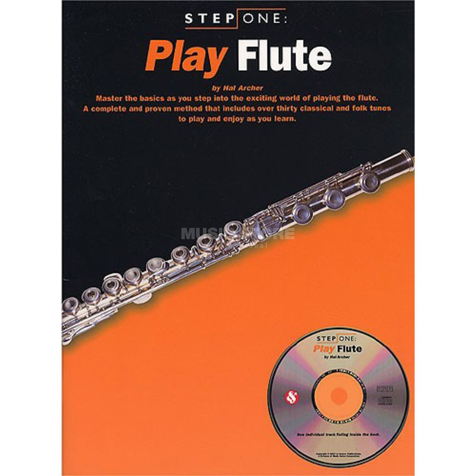 Wise Publications Step One: Play Flute Book with CD Produktbillede
