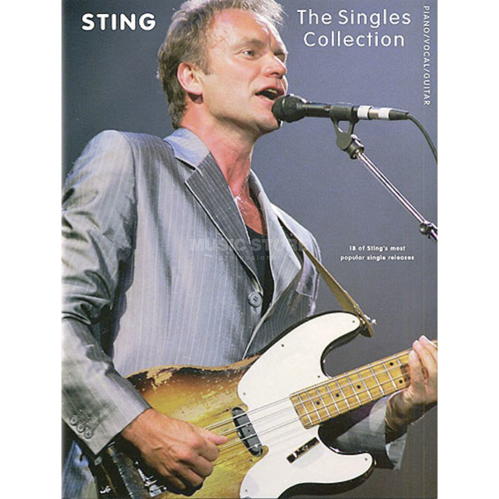 Wise Publications Sting: Singles Collection PVG Produktbild