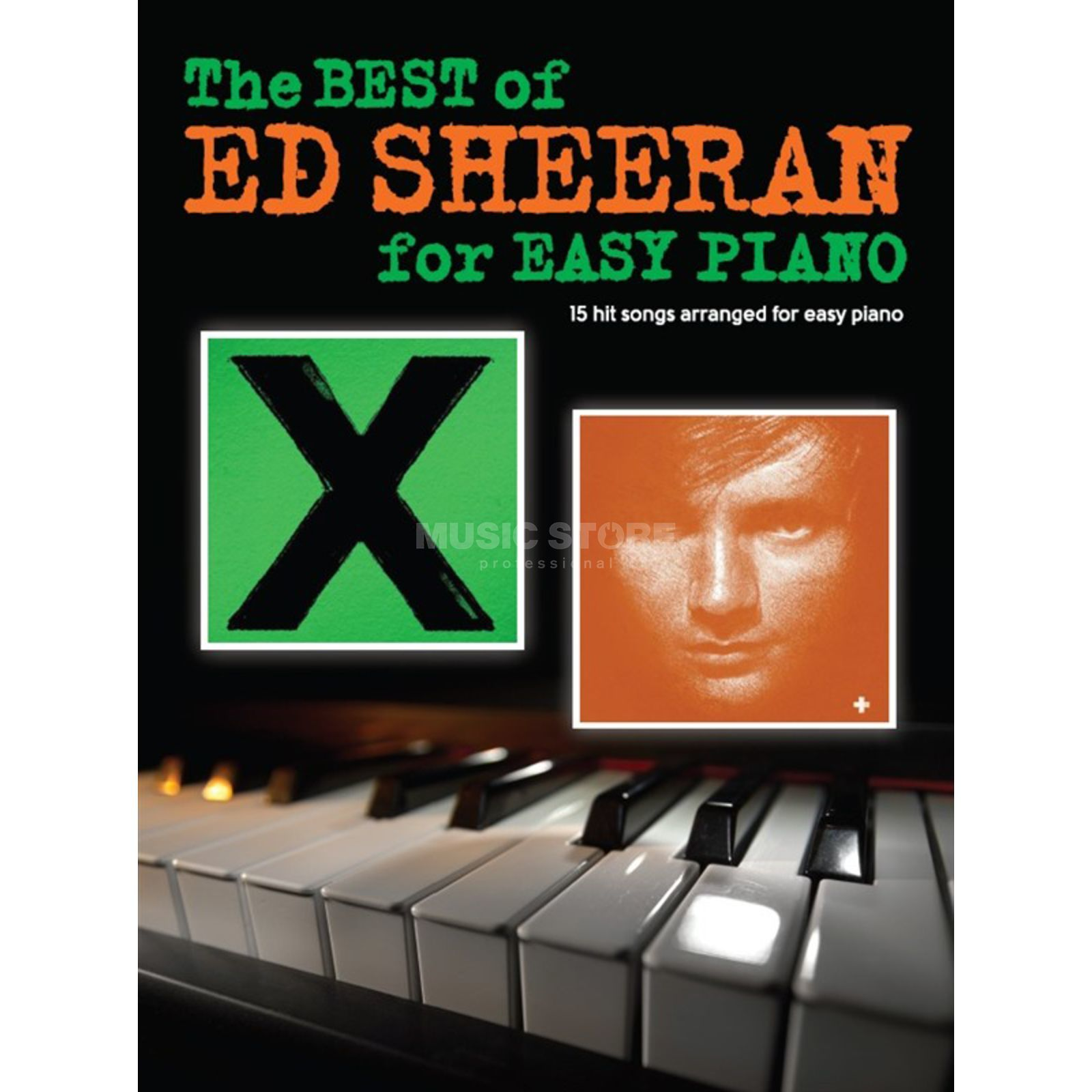 Wise Publications The Best Of Ed Sheeran For Easy Piano Produktbild