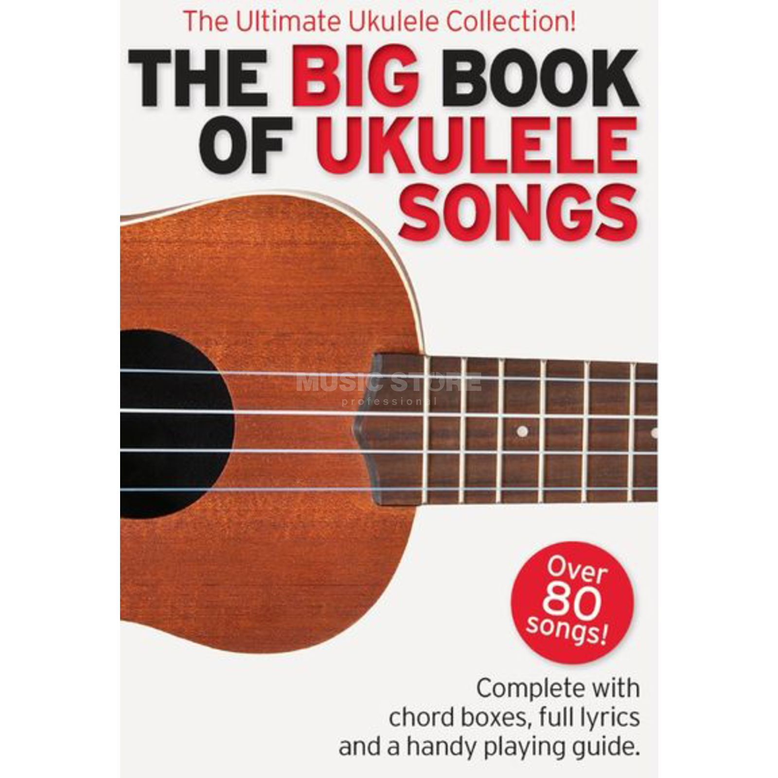 Wise Publications The Big Book Of Ukulele Songs Lyrics & Chords Produktbild