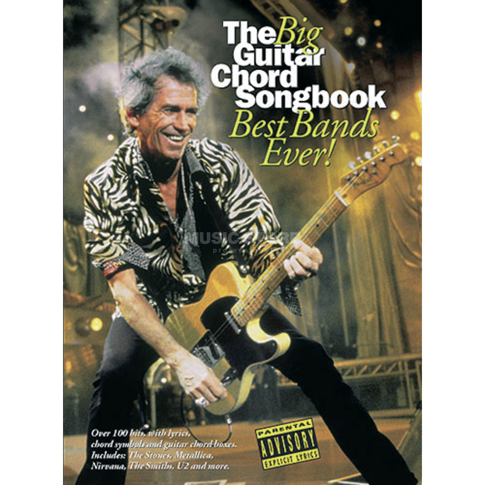 Wise Publications The Big Guitar Chord Songbook: Best Bands Ever! Produktbild