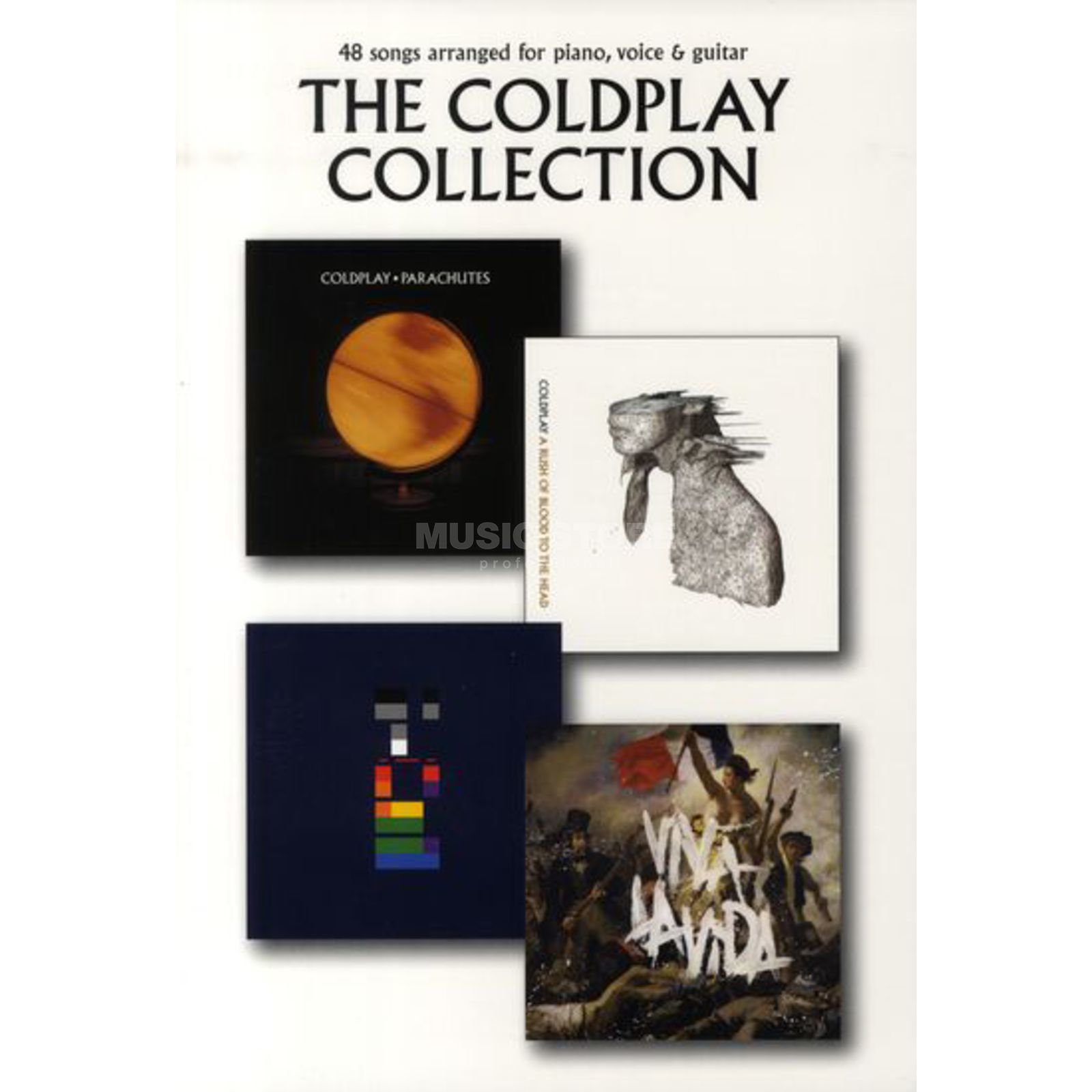Wise Publications The Coldplay Collection Produktbillede