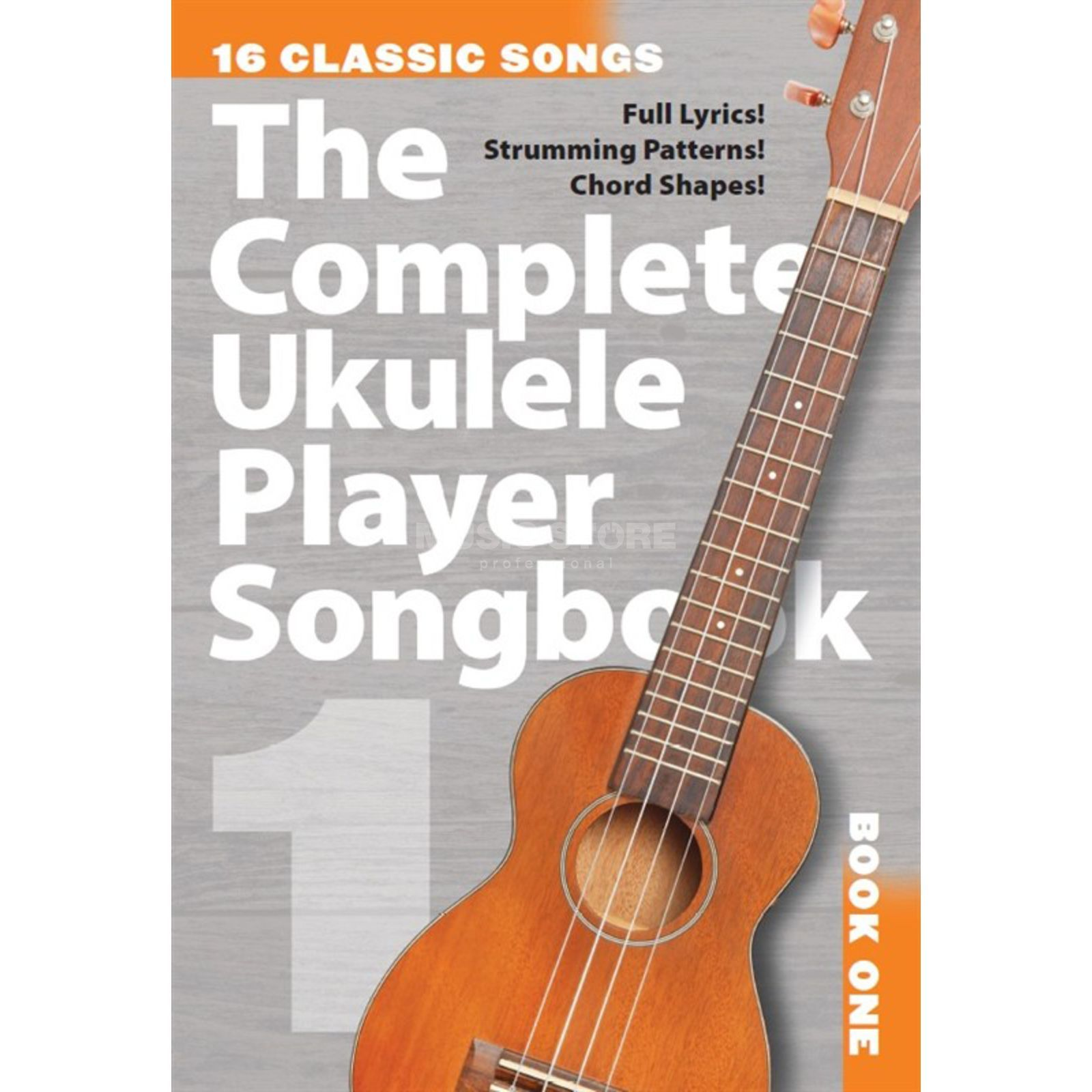 Wise Publications The Complete Ukulele Player Songbook 1 Produktbillede