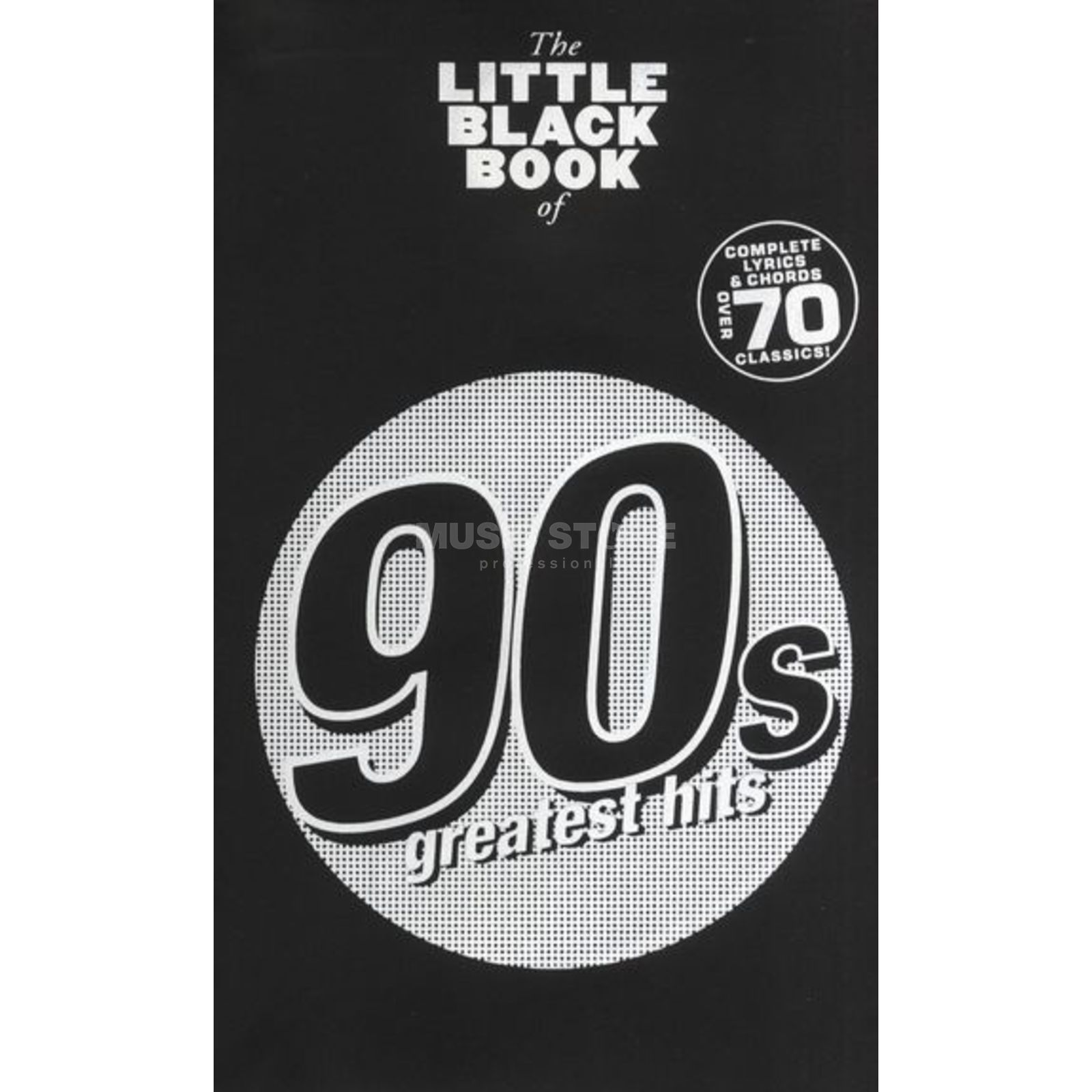 Wise Publications The Little Black Book of 90's Greatest Hits Produktbillede