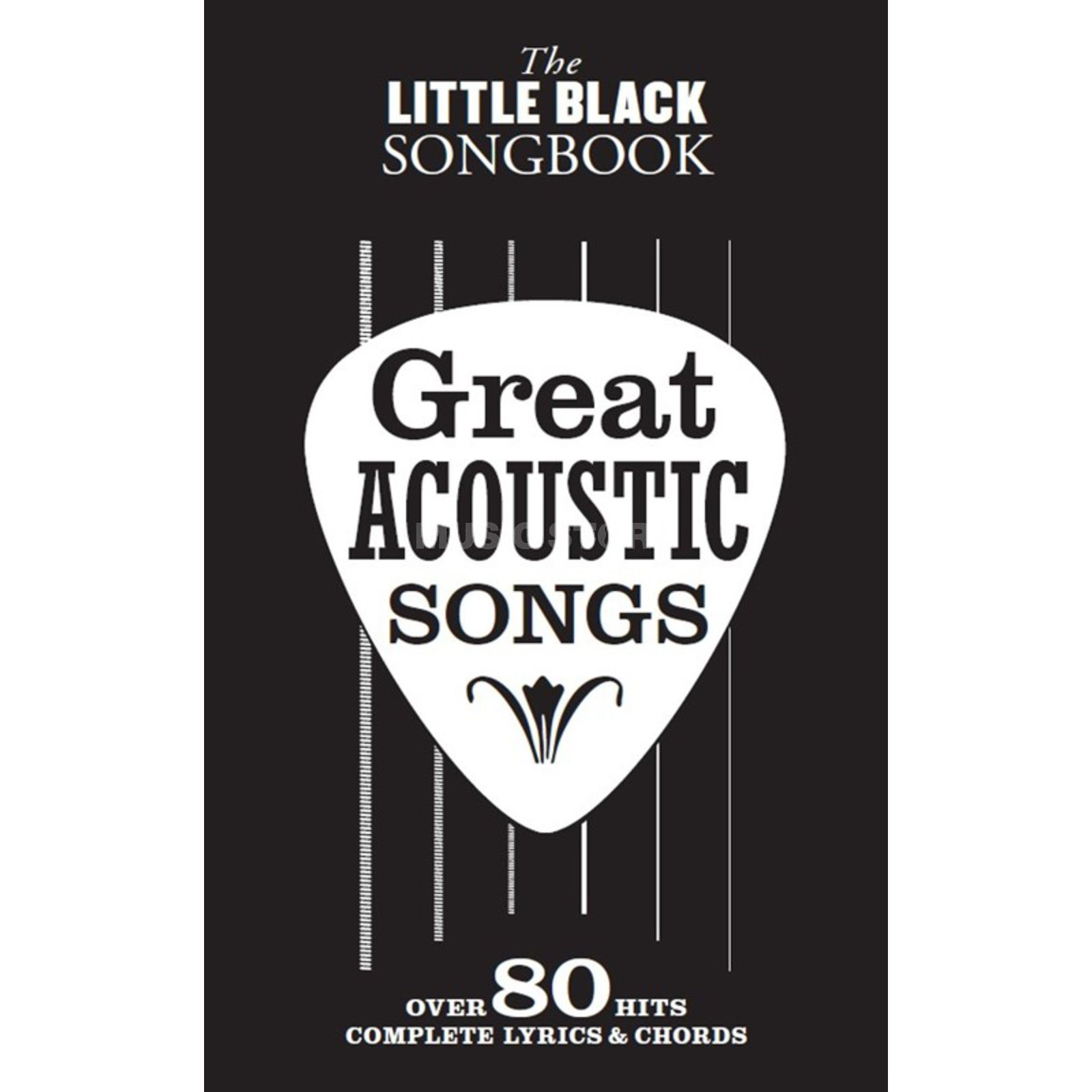 Wise Publications The Little Black Songbook: Great Acoustic Songs Produktbillede