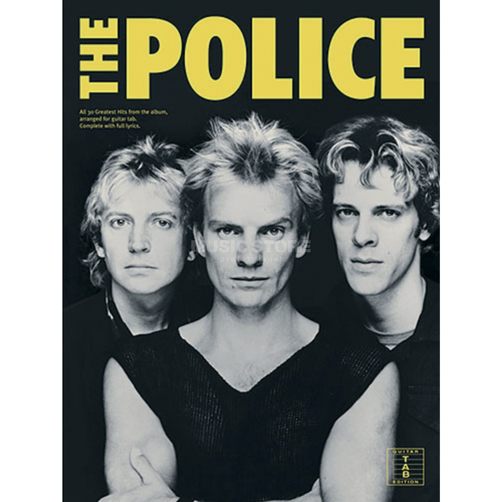 Wise Publications The Police: Greatest Hits Produktbild