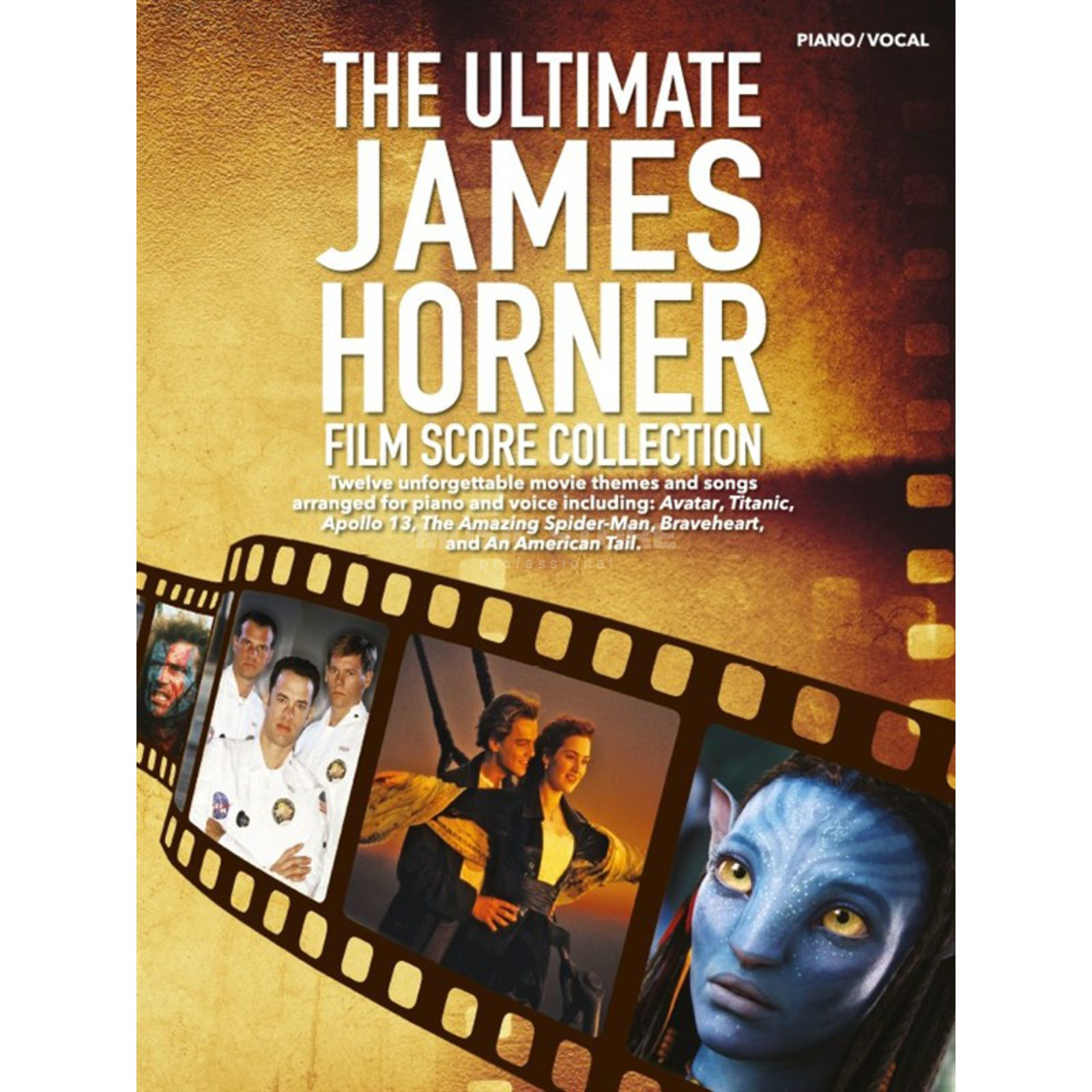 Wise Publications The Ultimate James Horner Film Score Collection Produktbild