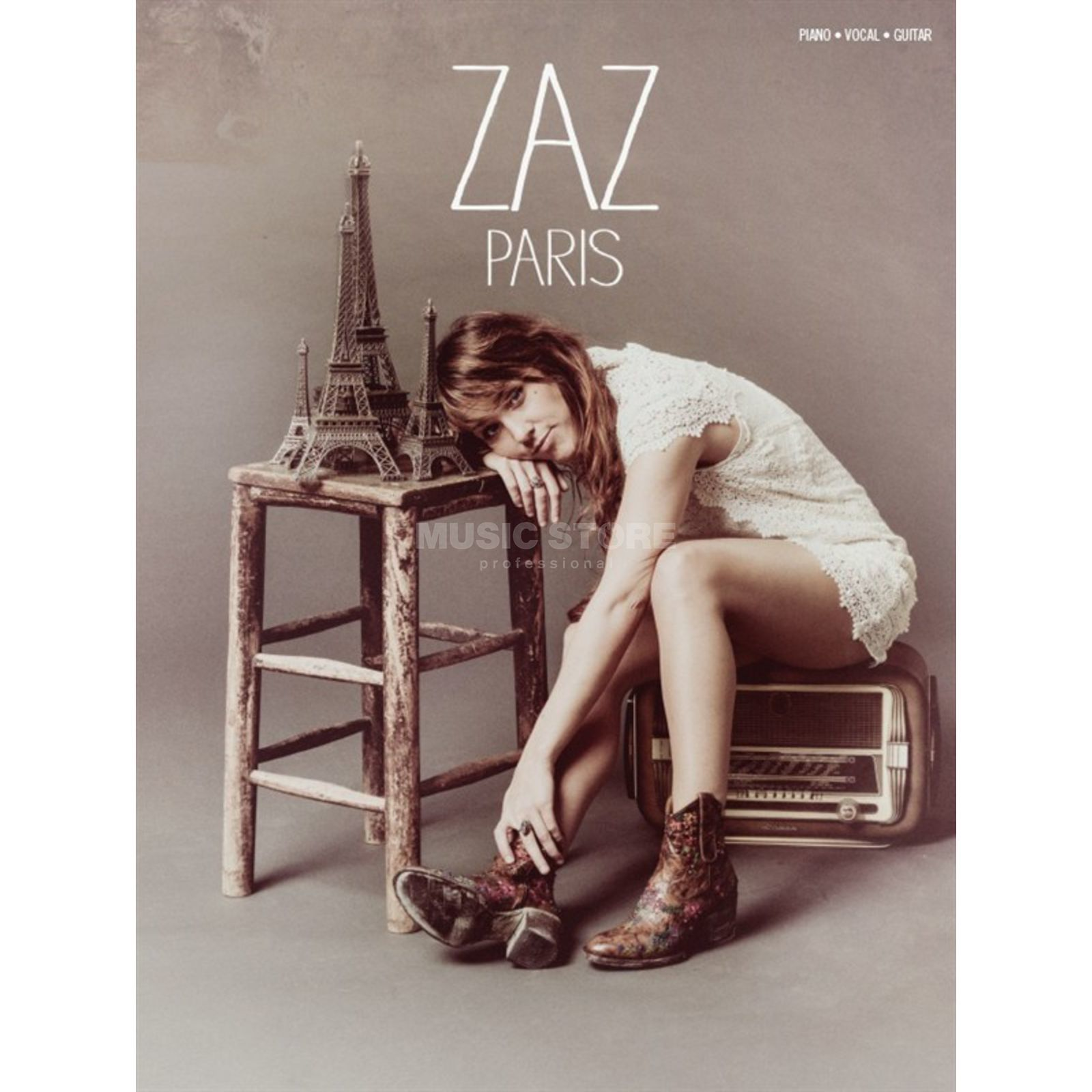 Wise Publications Zaz: Paris Produktbillede