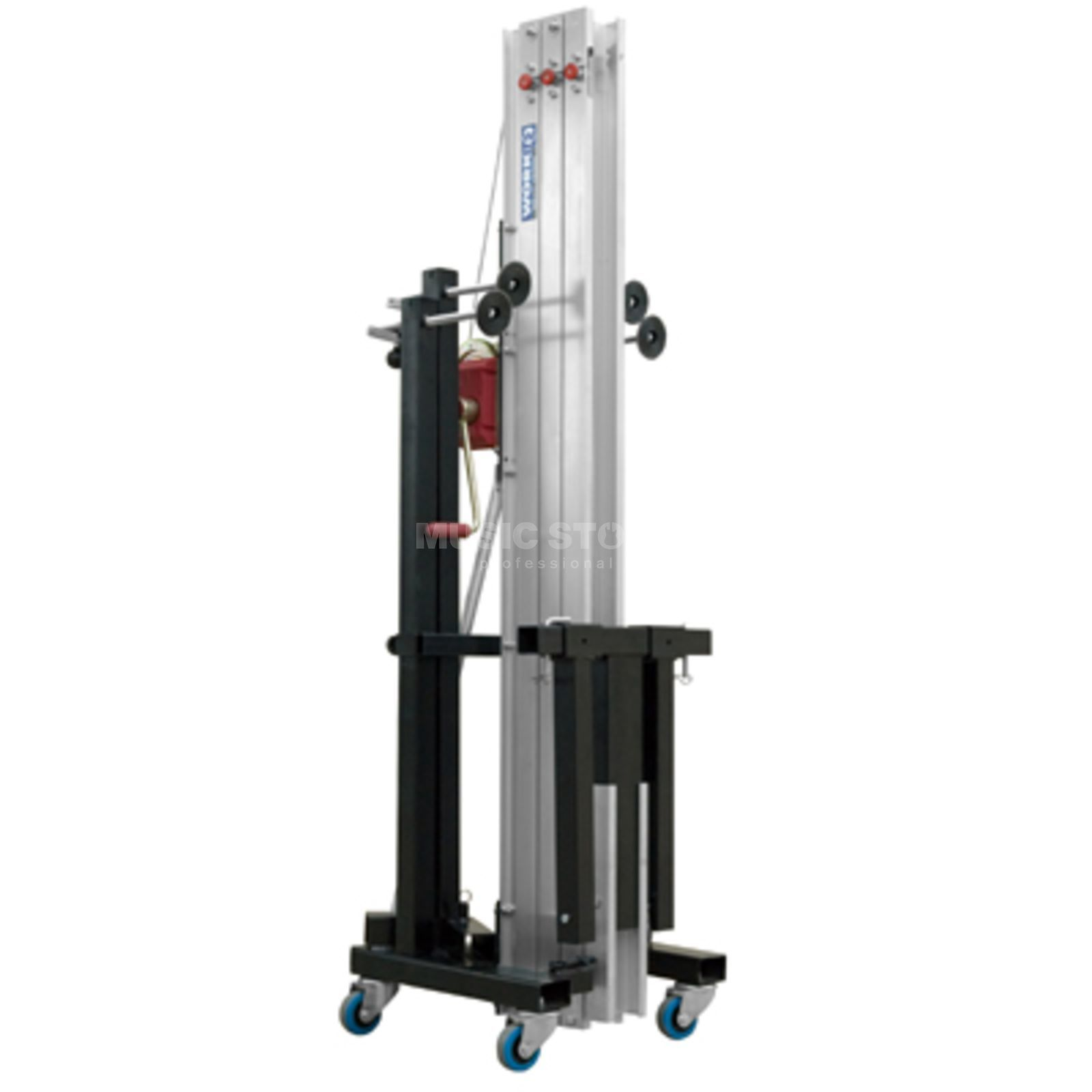 Work LW 415 RB Traversenlift 170 kg, 5,00 m , BGV C1 black Product Image