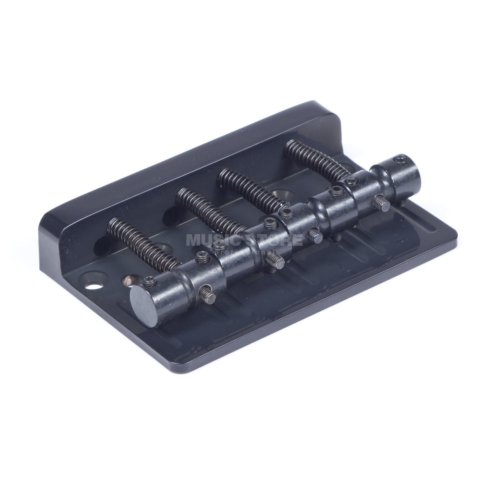 WSC Partsland Bass Bridge THD4-BK Black 4-String Produktbild
