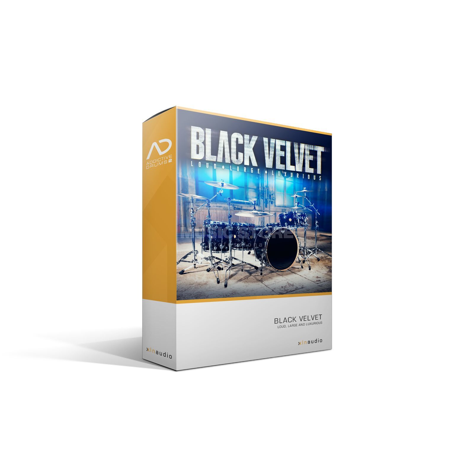 XLN Audio Addictive Drums 2 AD PAK Black Velvet /Expansion AD2 Produktbillede