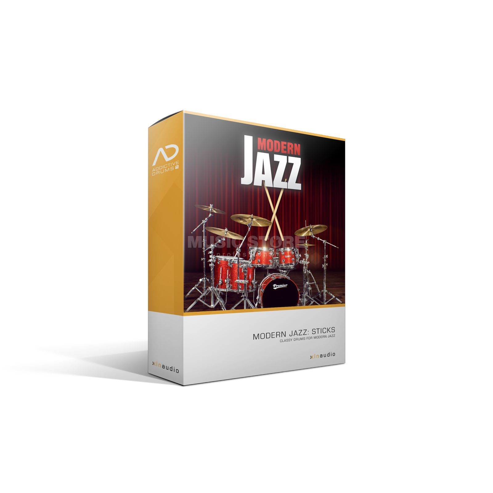 XLN Audio Addictive Drums 2 AD PAK Modern Jazz Sticks /Erw. AD2 Produktbild