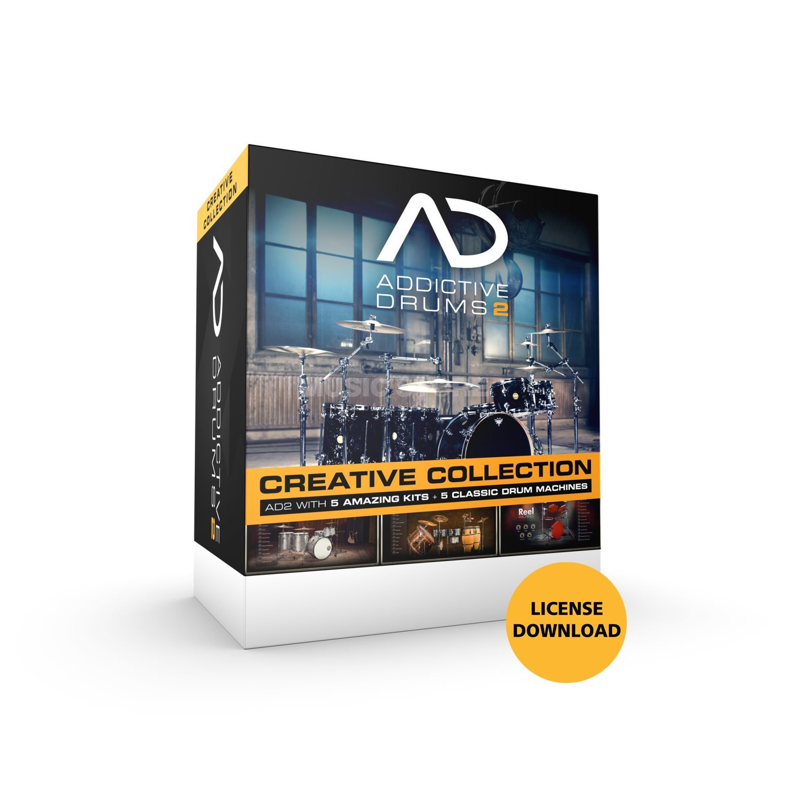 XLN Audio Addictive Drums 2 Bundle Creative Collection Produktbillede