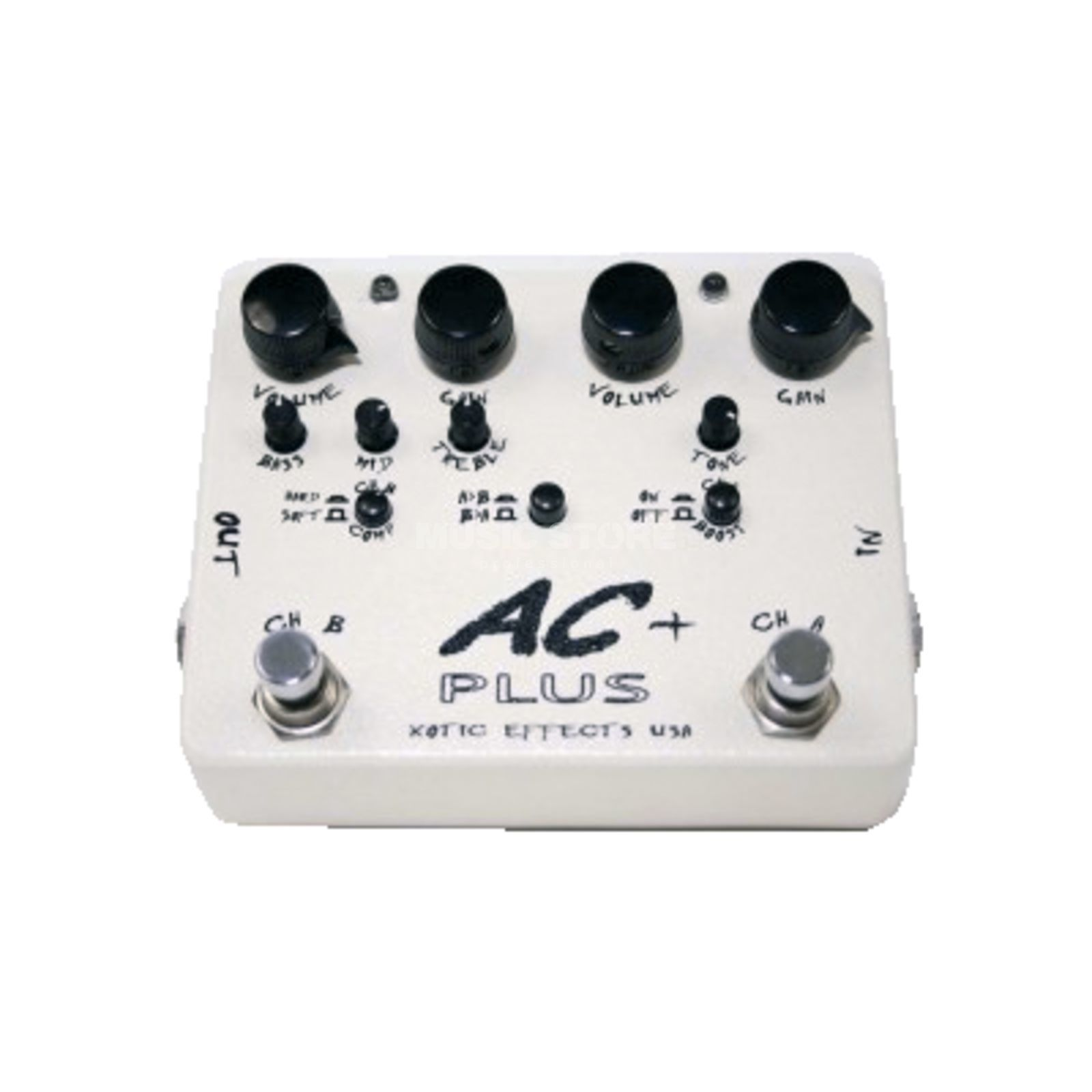 Xotic AC Plus Booster Overdrive  Produktbillede