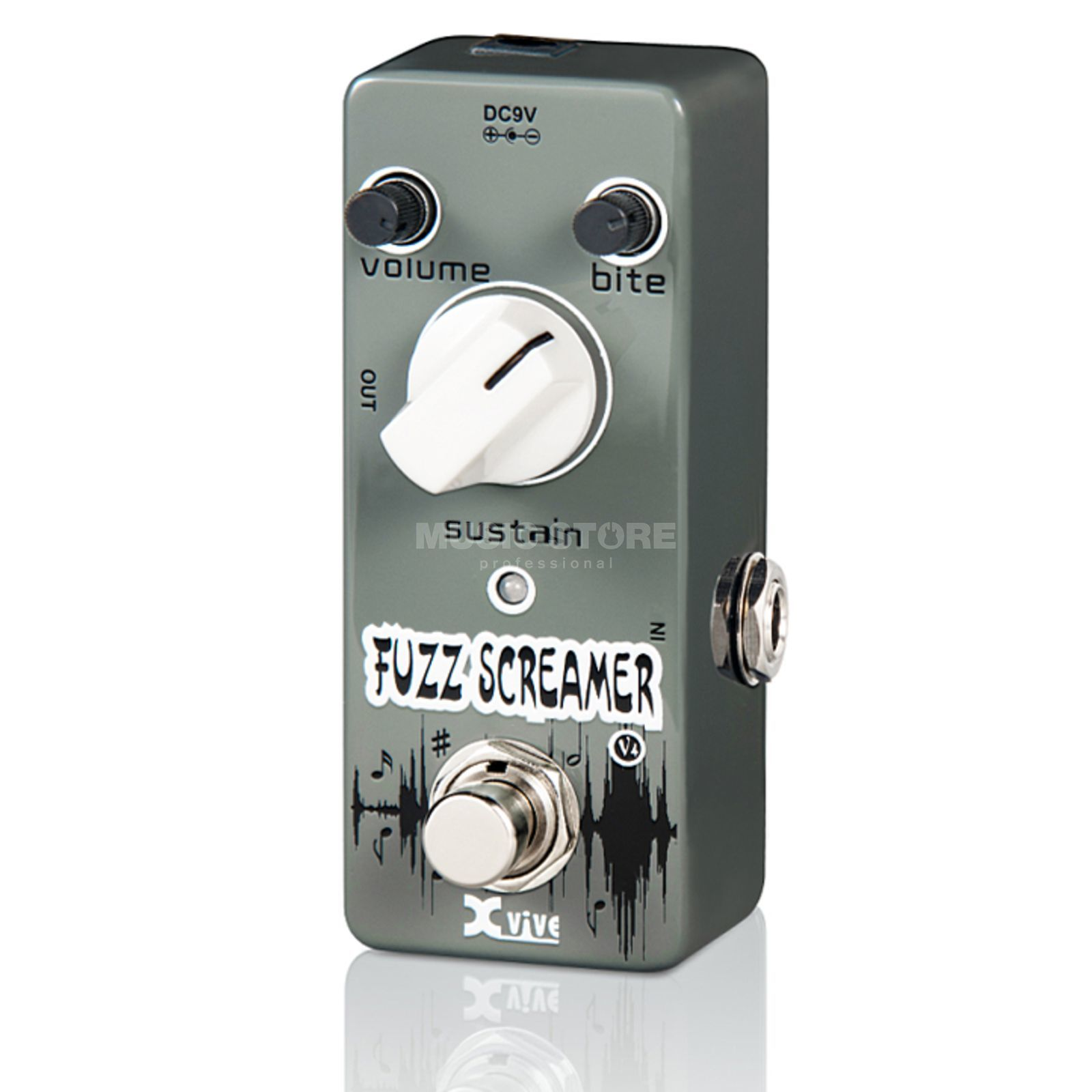 Xvive V4 Fuzz Screamer Produktbild