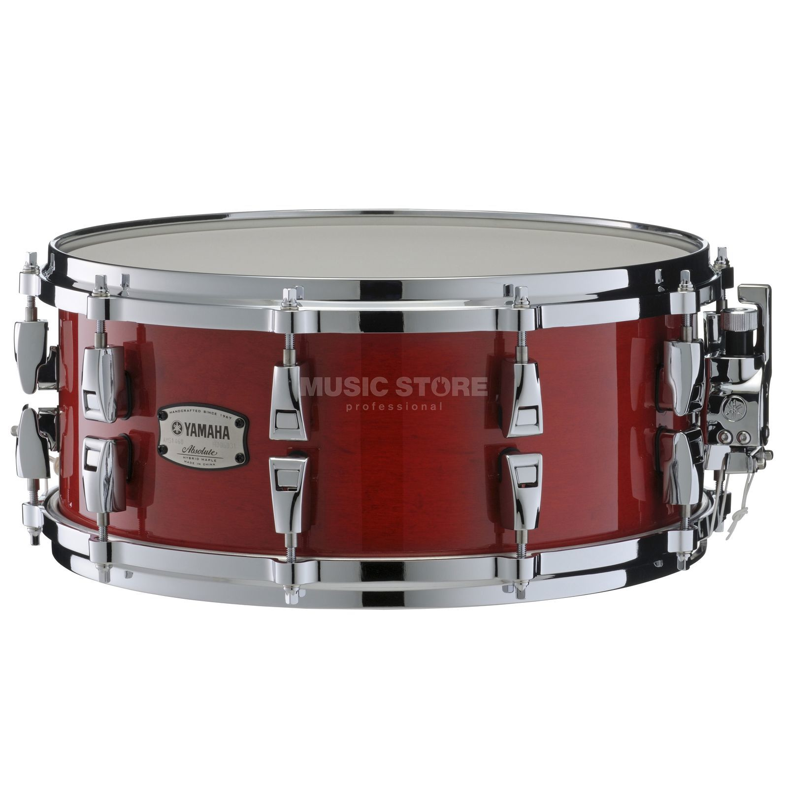 "Yamaha Absolute Maple Hybrid Snare 14""x6, Red Autumn #RAU Produktbild"