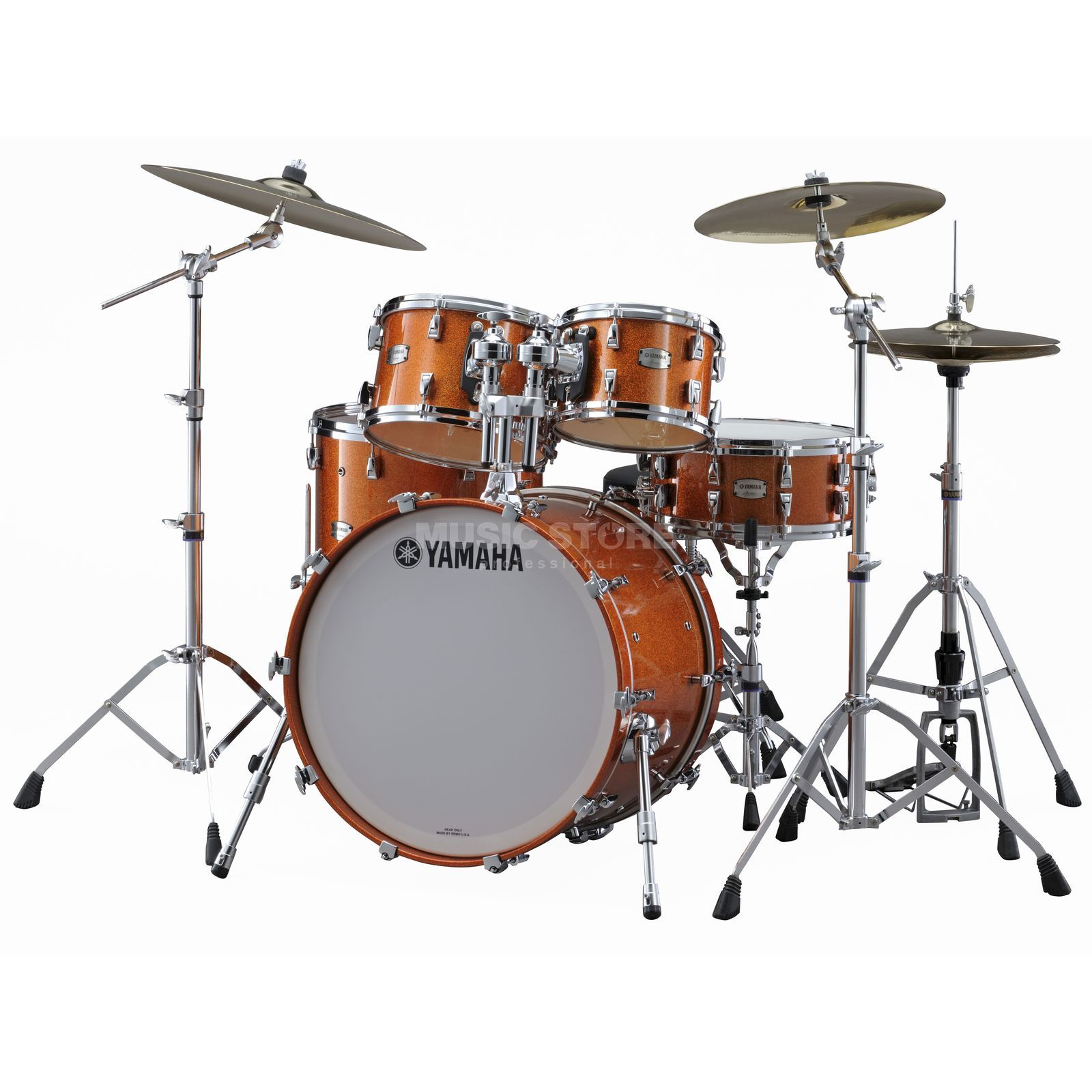 Yamaha Absolute Maple Hybrid Standard Orange Sparkle #ORS Produktbillede