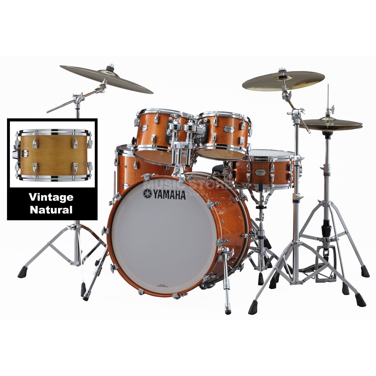 Yamaha Absolute Maple Hybrid Standard Vintage Natural #VN Produktbild