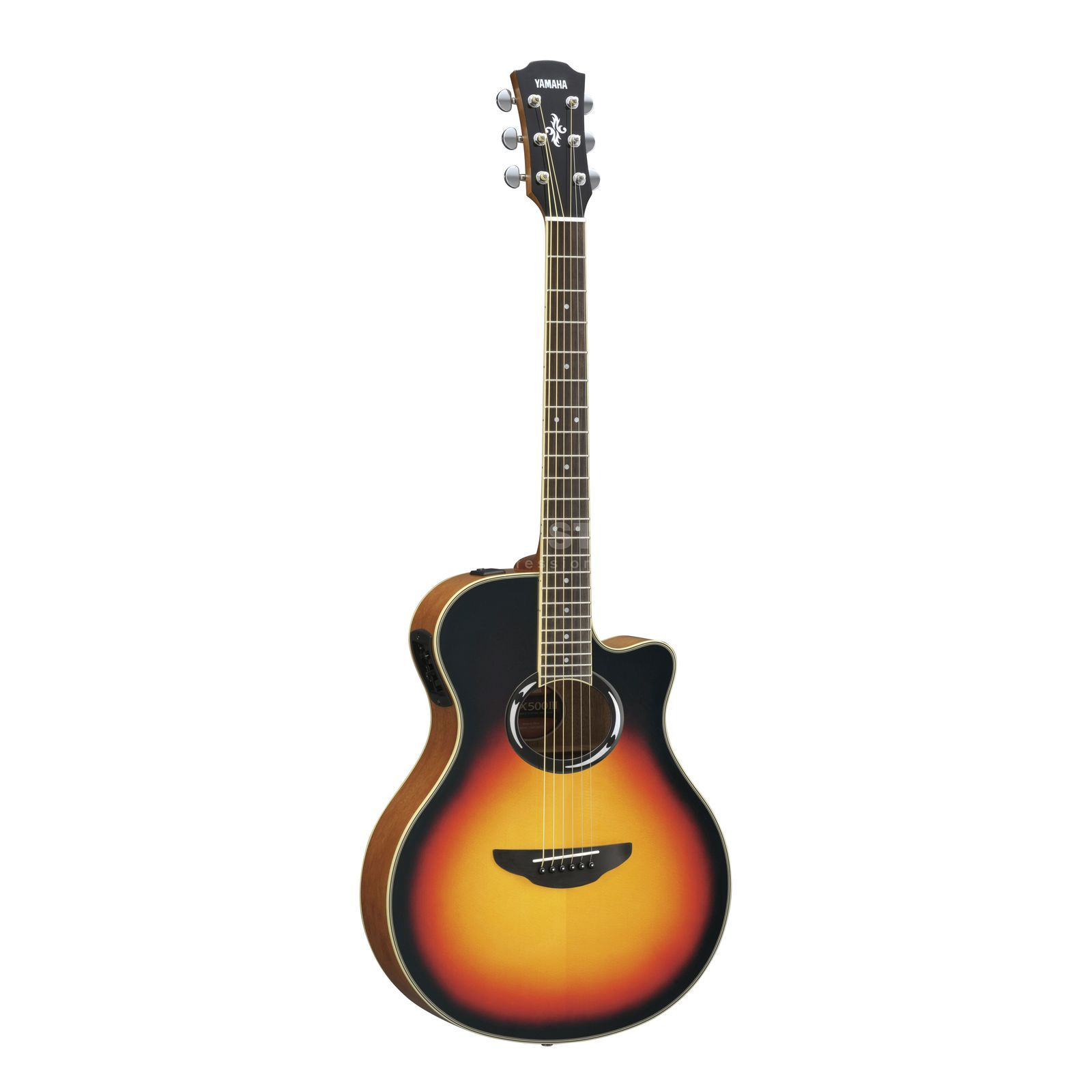 Yamaha apx 500 iii vsb vintage sunburst for Apx guitar yamaha