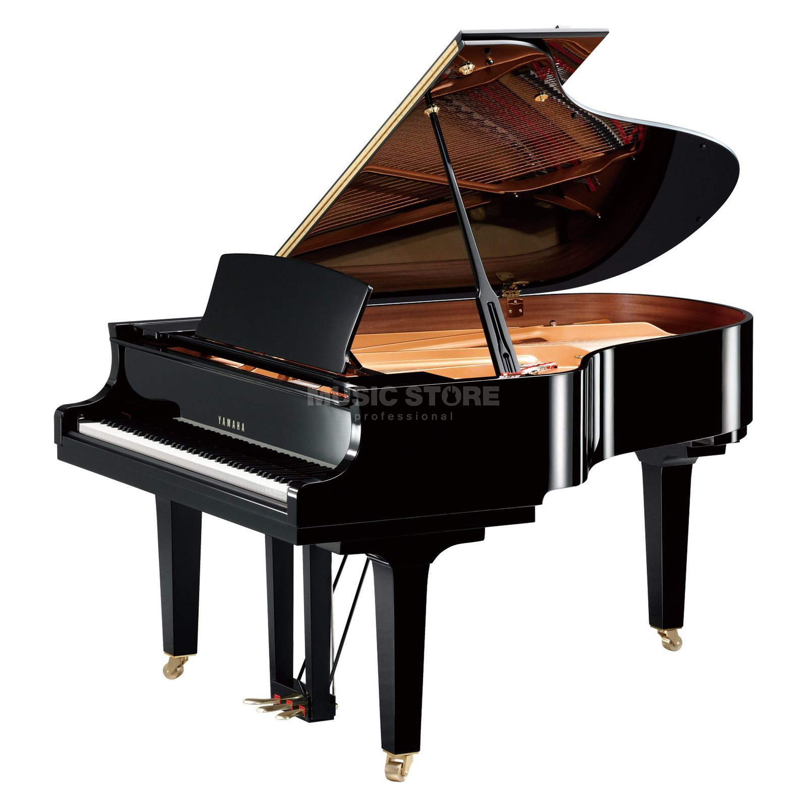 Yamaha C3x - PE  Grand 186cm Black polished Produktbillede
