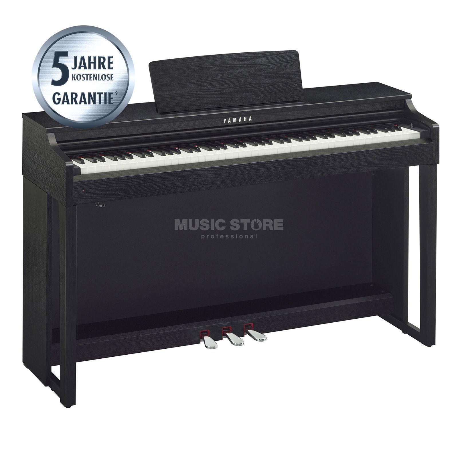 yamaha clavinova clp 525 b digital piano black. Black Bedroom Furniture Sets. Home Design Ideas