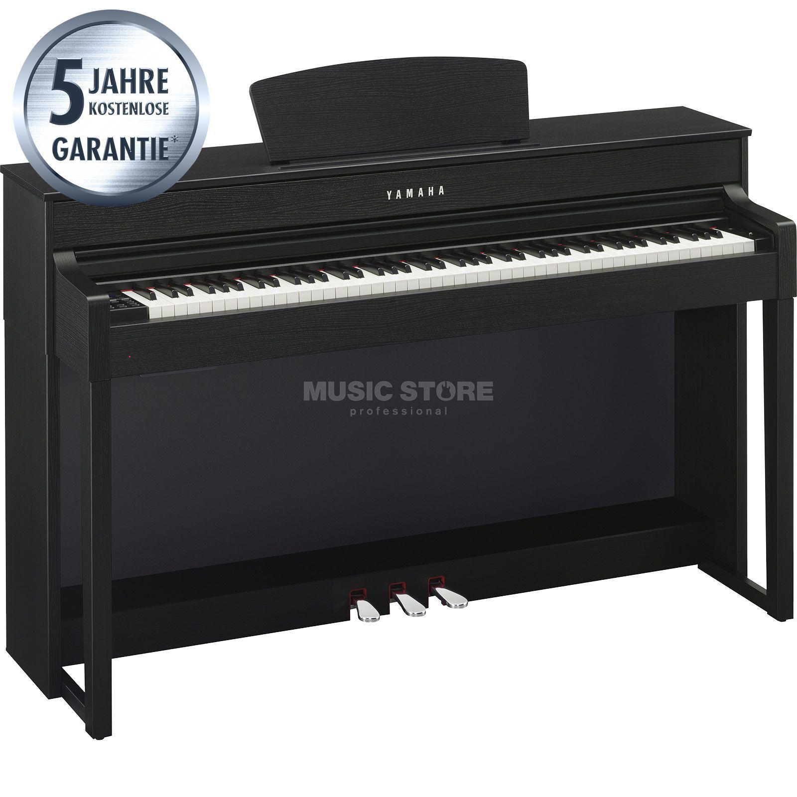 Yamaha clavinova clp 535 b digitaal piano zwart for Yamaha digital piano clp 535