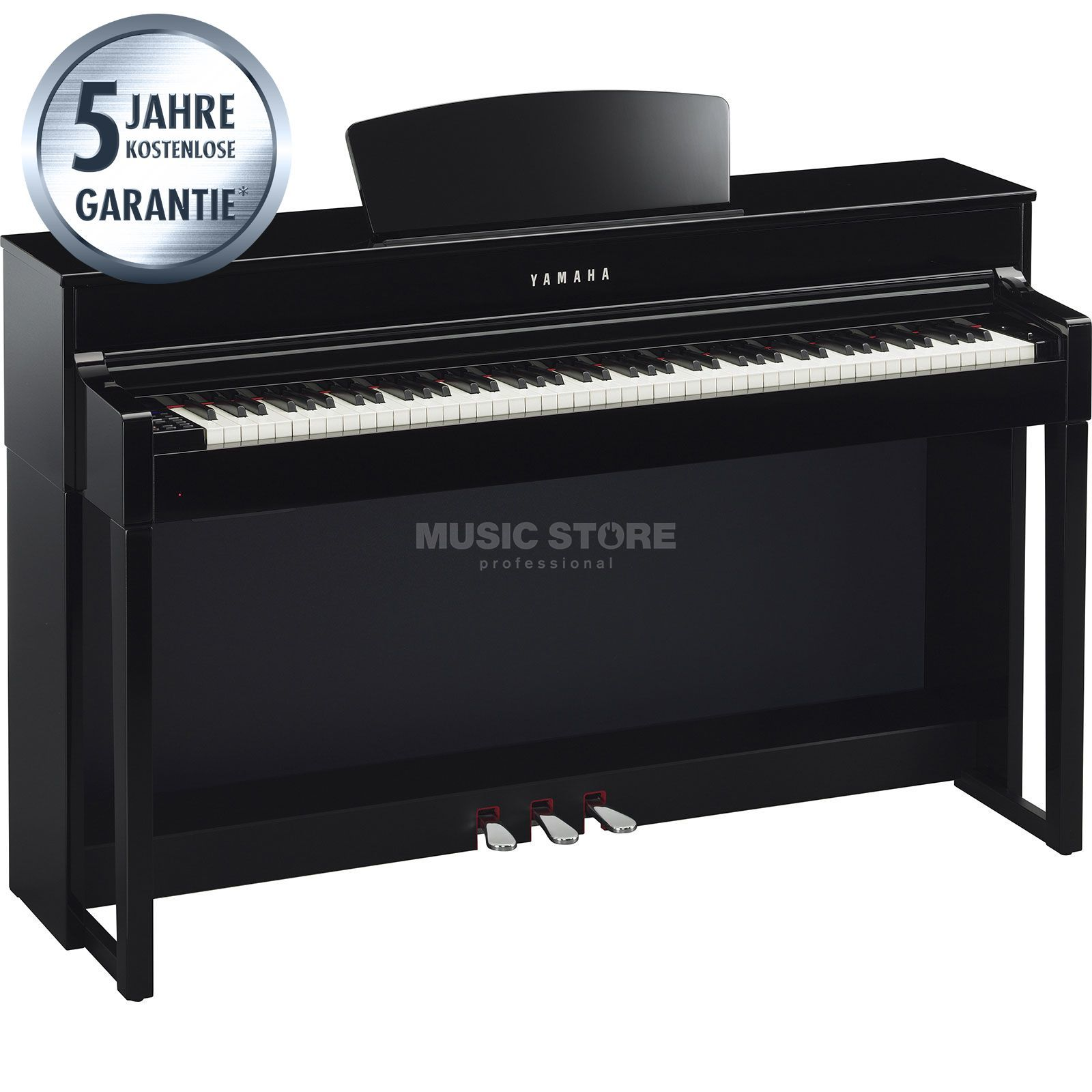 Yamaha Clavinova CLP-535 PE Digital Piano Polished Ebony Produktbillede