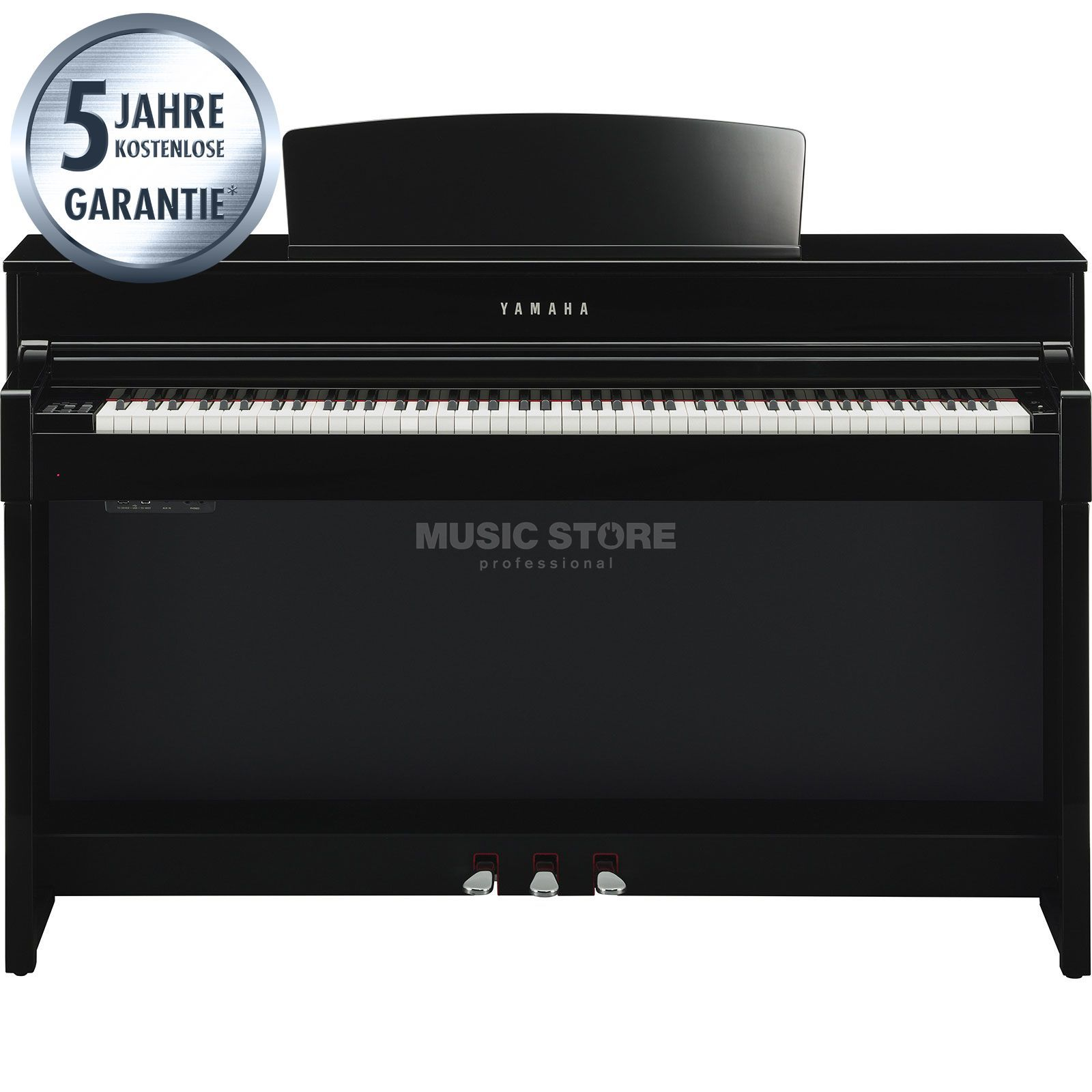 Yamaha Clavinova CLP-545 PE Digital Piano Polished Ebony Produktbillede