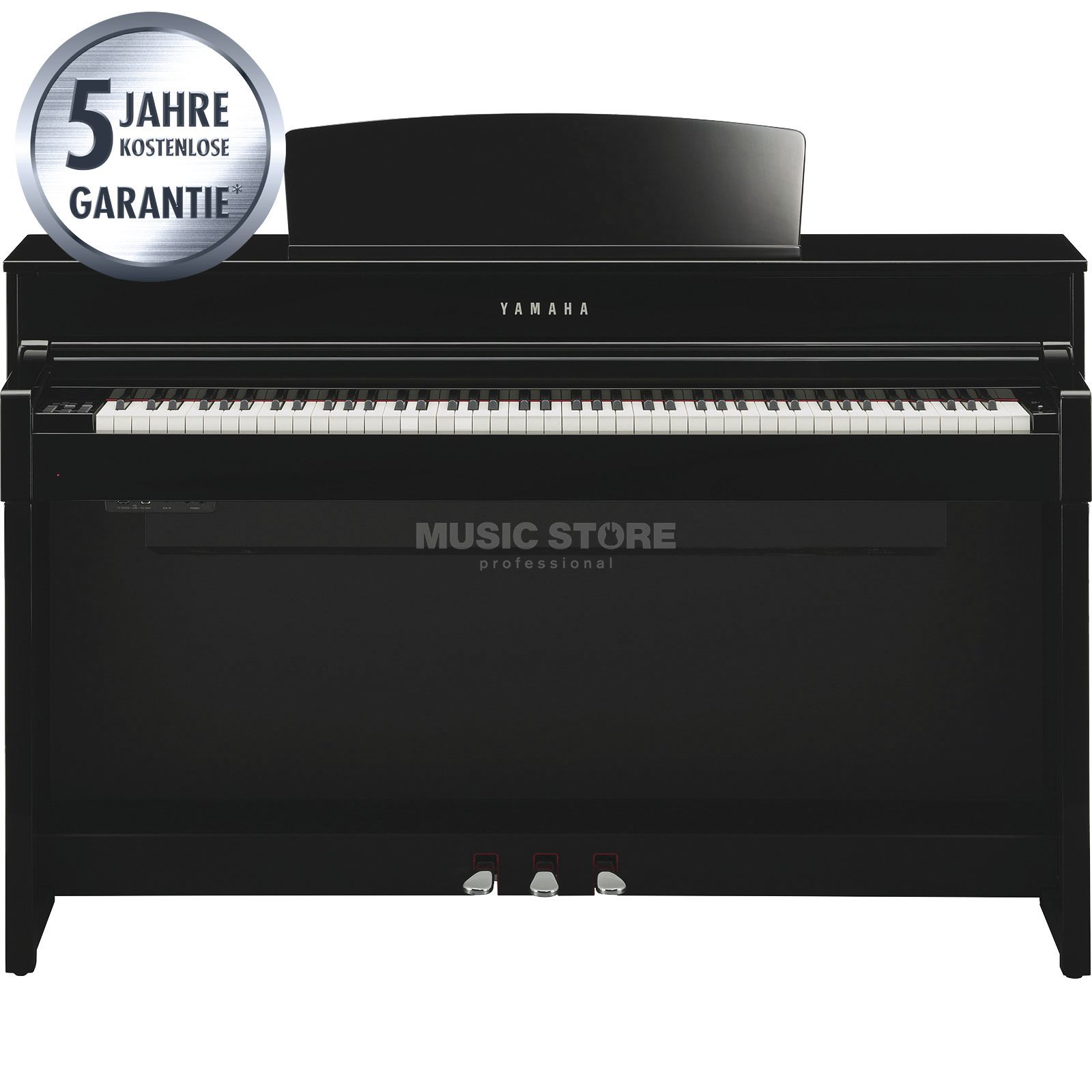 Yamaha Clavinova CLP-575 PE Digital Piano Polished Ebony Produktbild