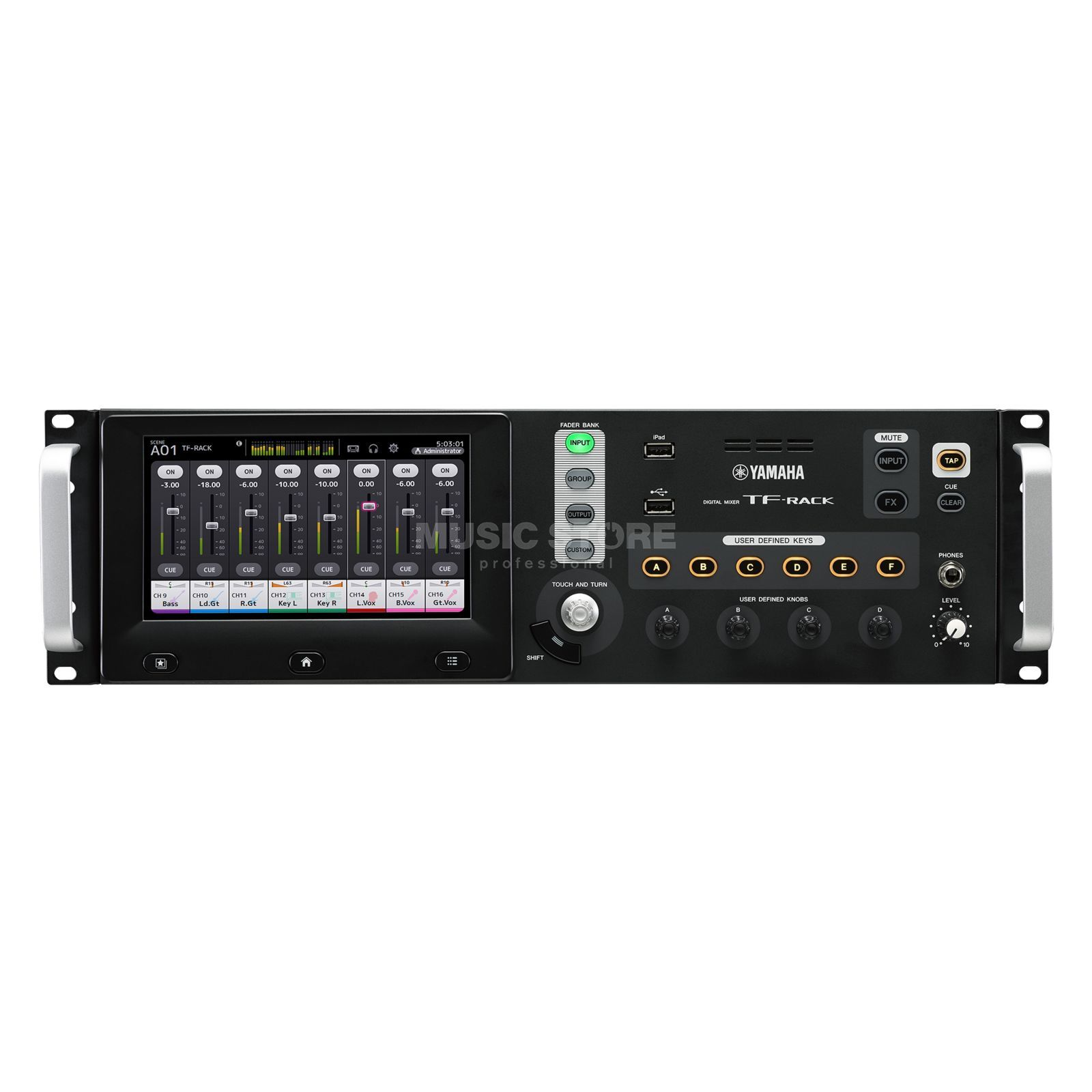 Yamaha commercial audio TF-Rack 40 Kanal Produktbild