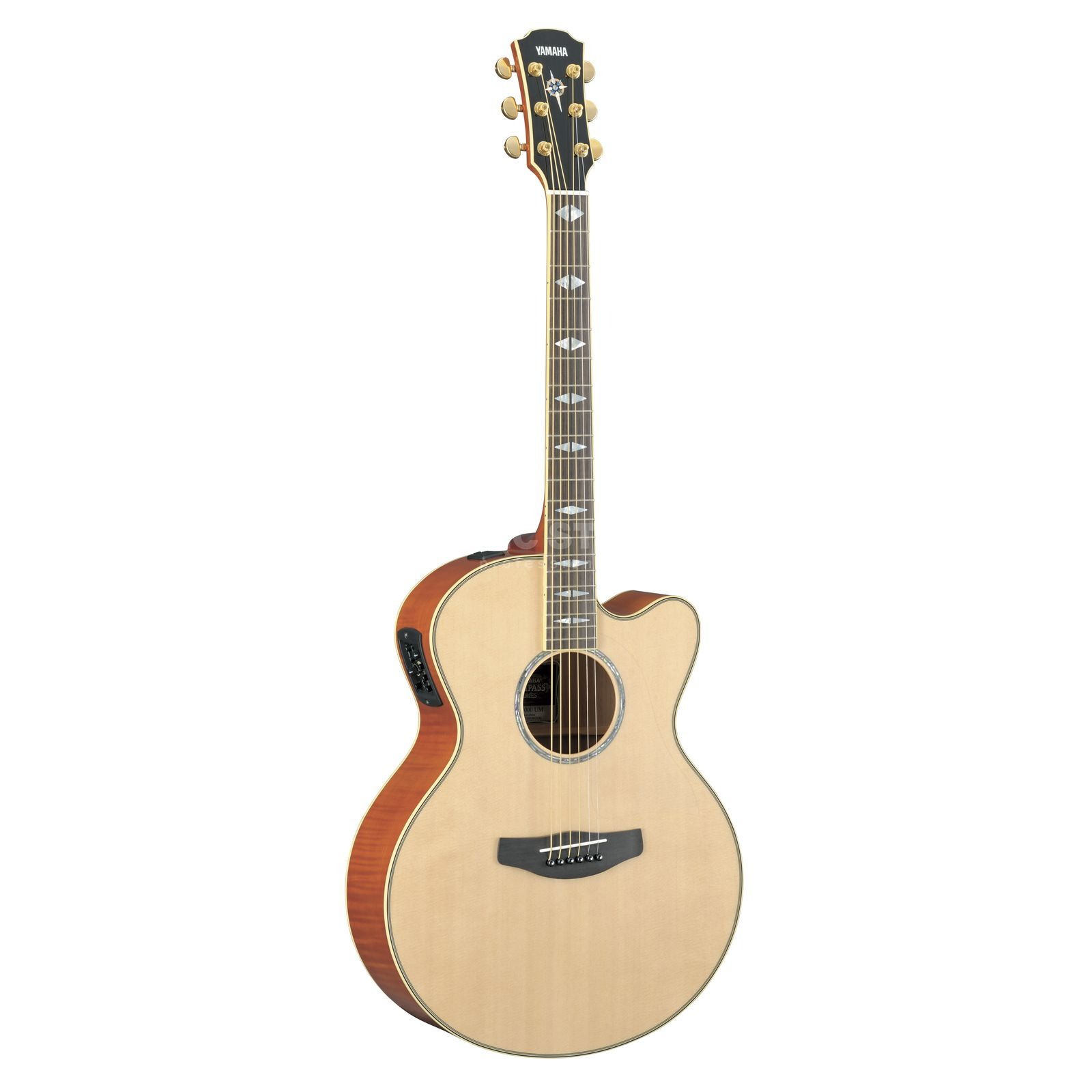 Yamaha CPX1000 Electro Acoustic Guita r, Natural   Produktbillede