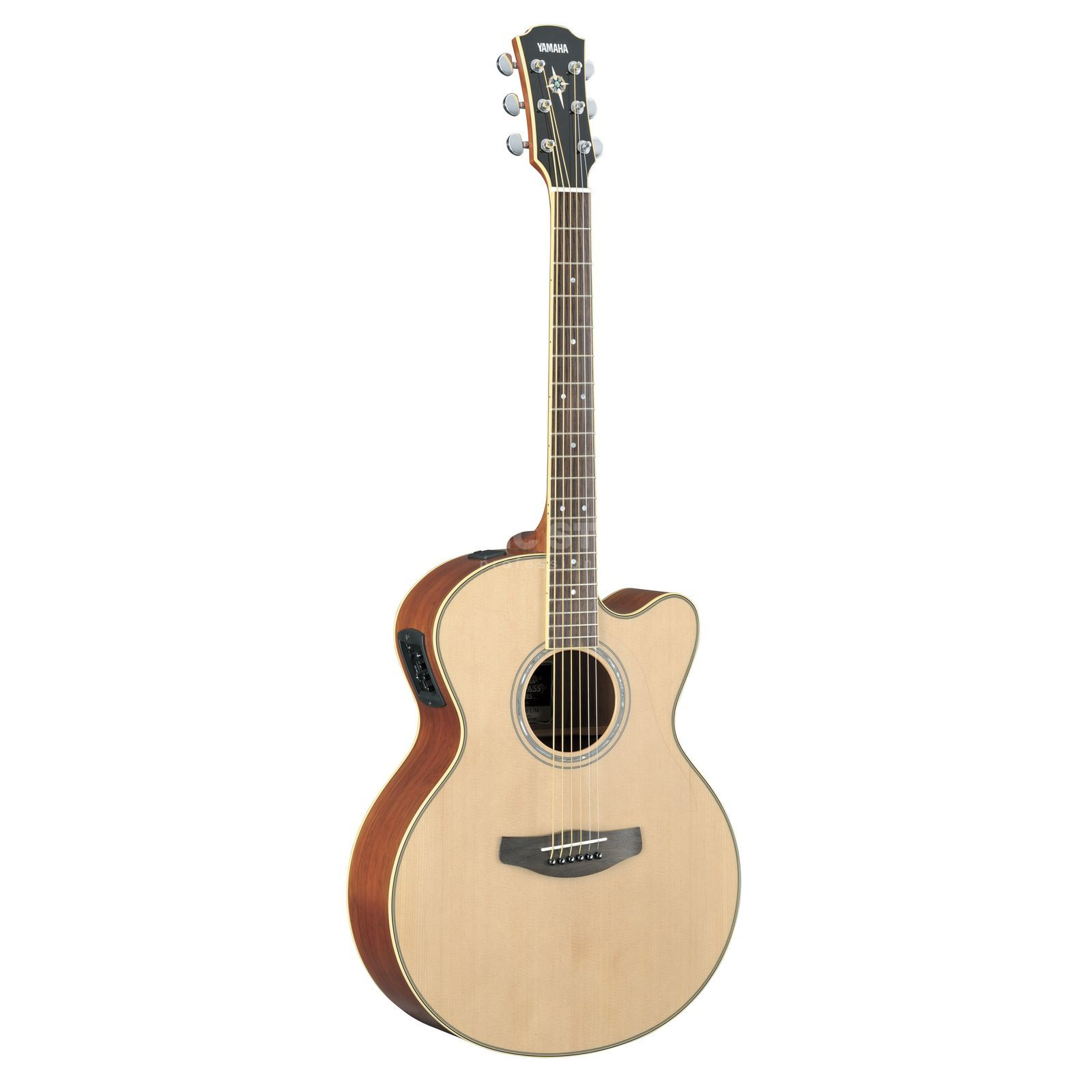Yamaha CPX700II Electro Acoustic Guit ar, Natural   Produktbillede