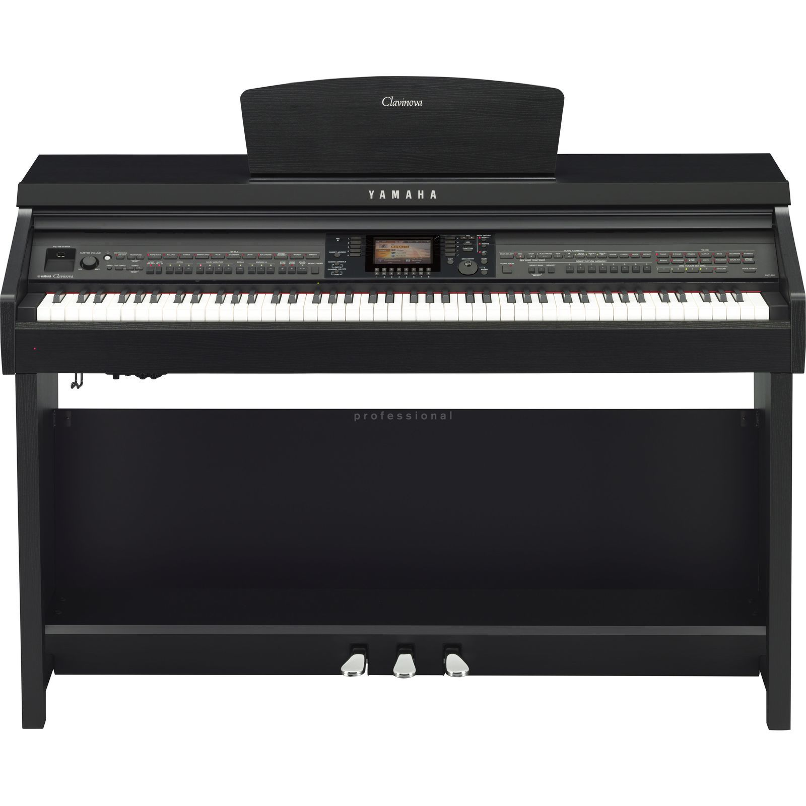 Yamaha CVP 701-B Digital Piano Satin Black Produktbild