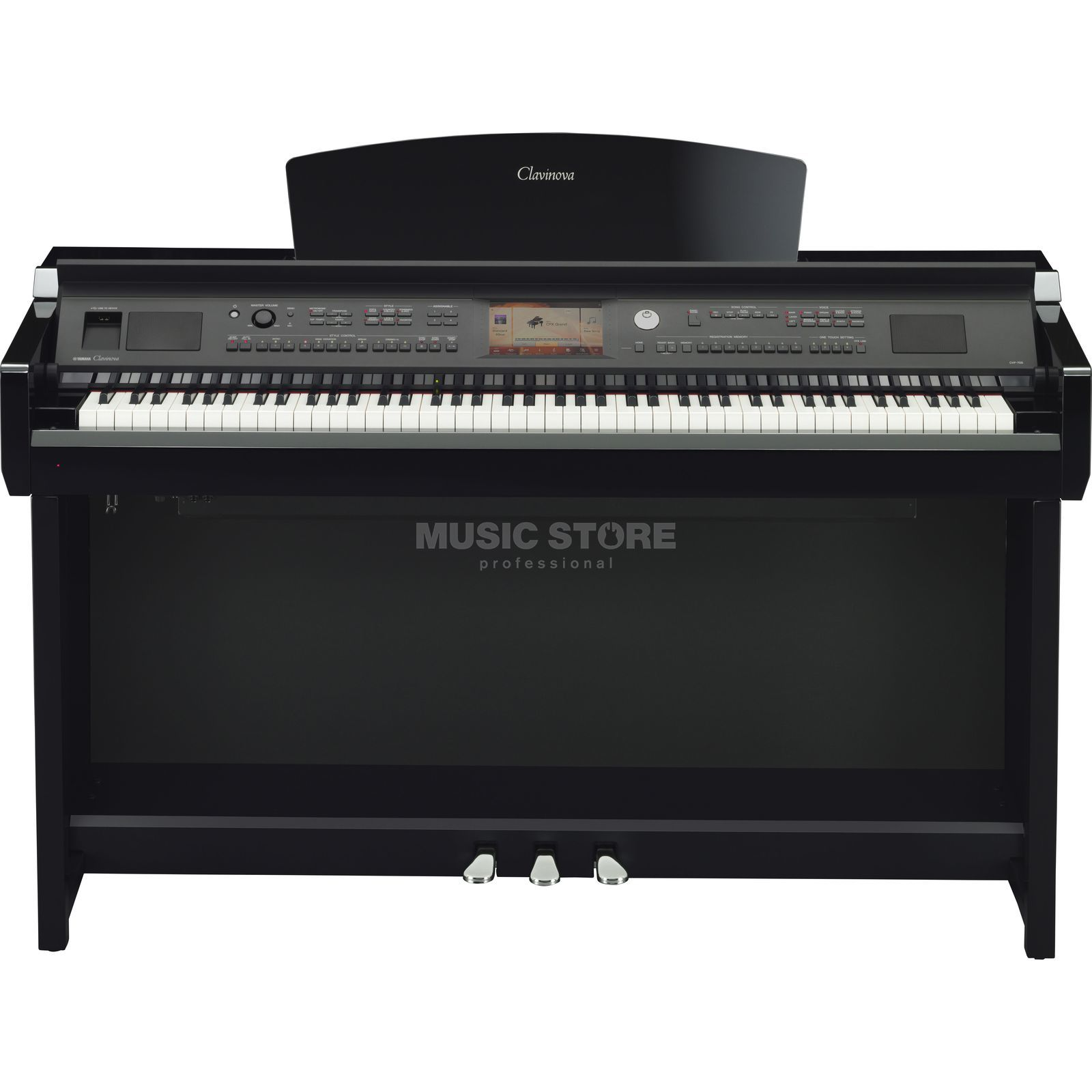 Yamaha CVP 705-PE Digital Piano Polished Ebony Изображение товара