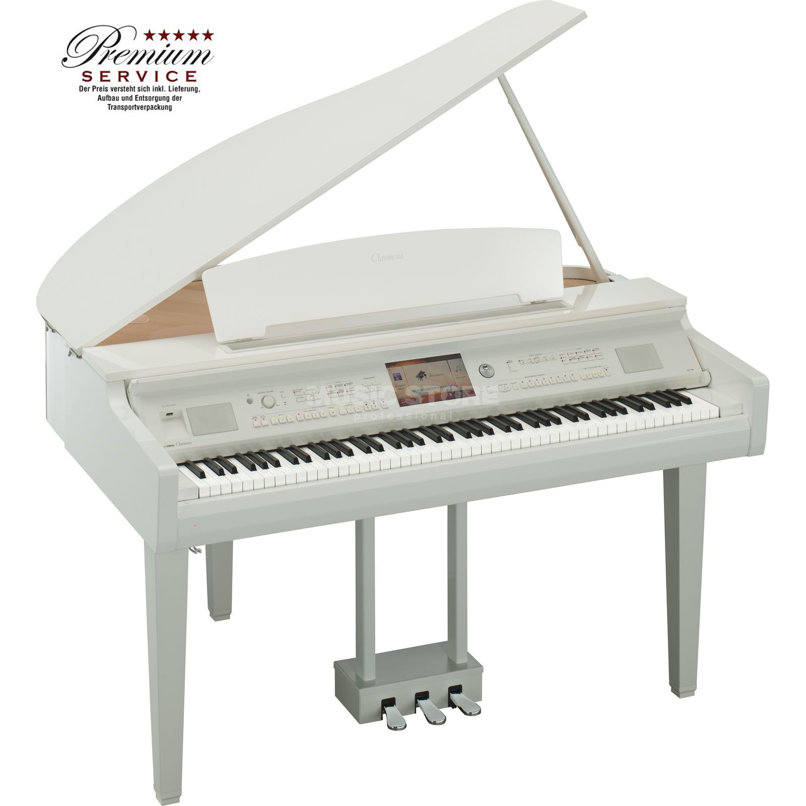 Yamaha CVP-709 GPWH White Polished Product Image