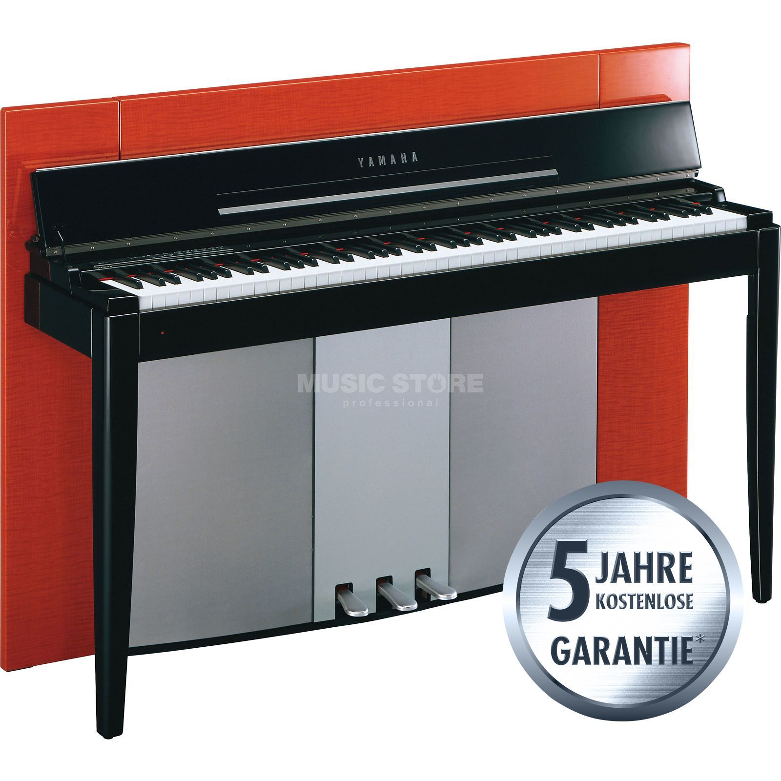 Yamaha Digital Piano Polished Orange  Produktbillede