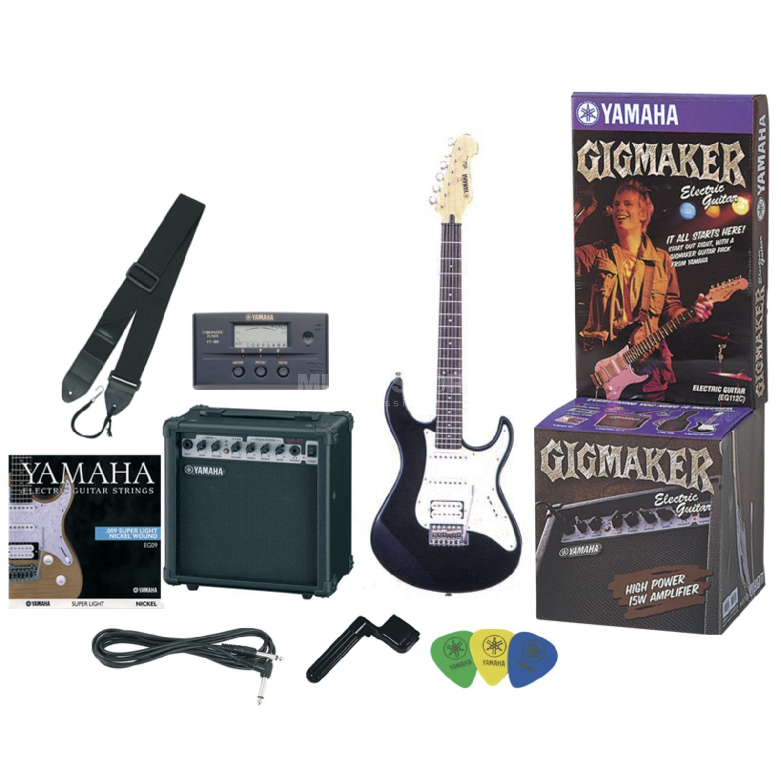 Yamaha EG-112GP Gigmaker Pack with Amp, Tuner and more Produktbillede