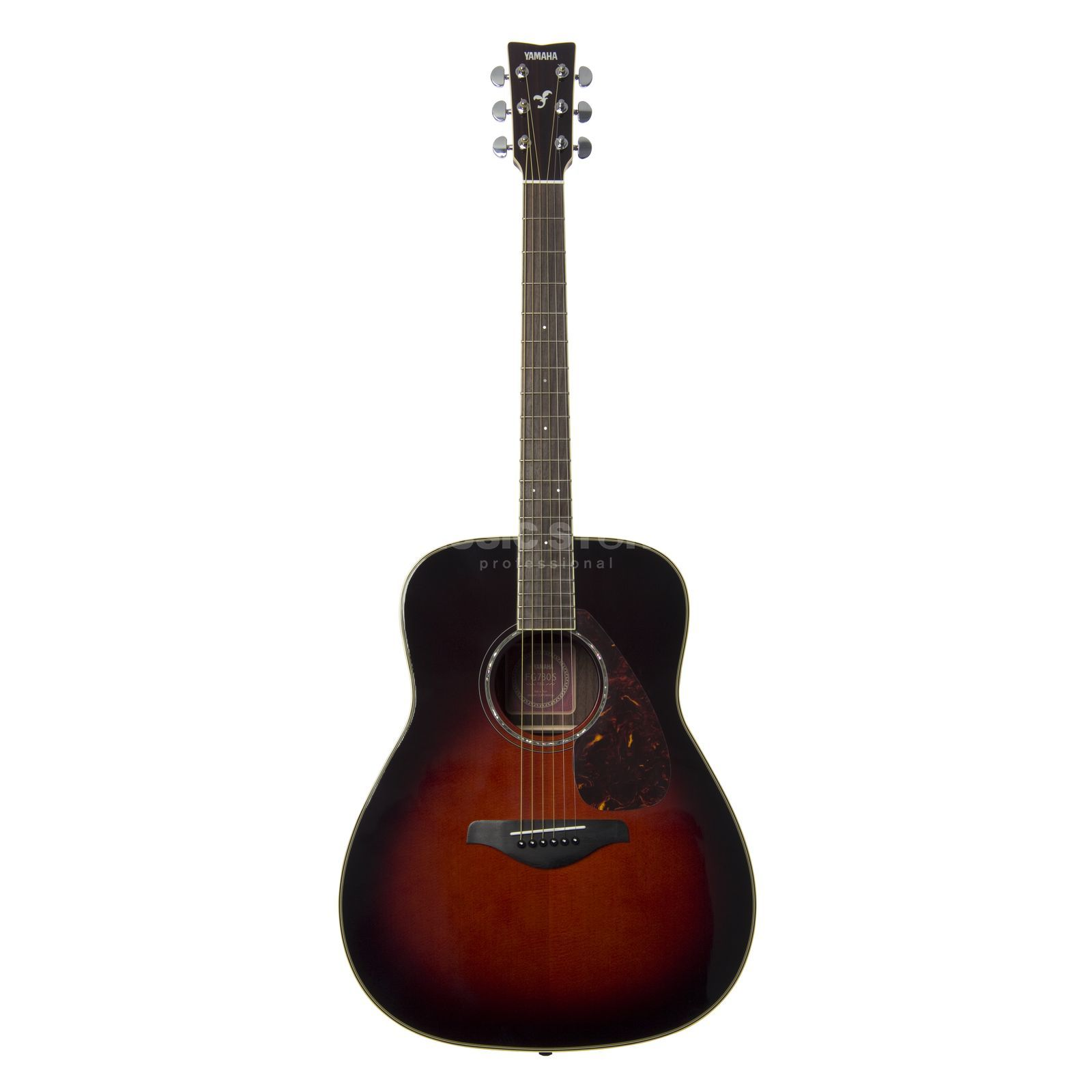 Yamaha FG730S Acoustic Guitar, Tobacc o Brown Sunburst   Produktbillede