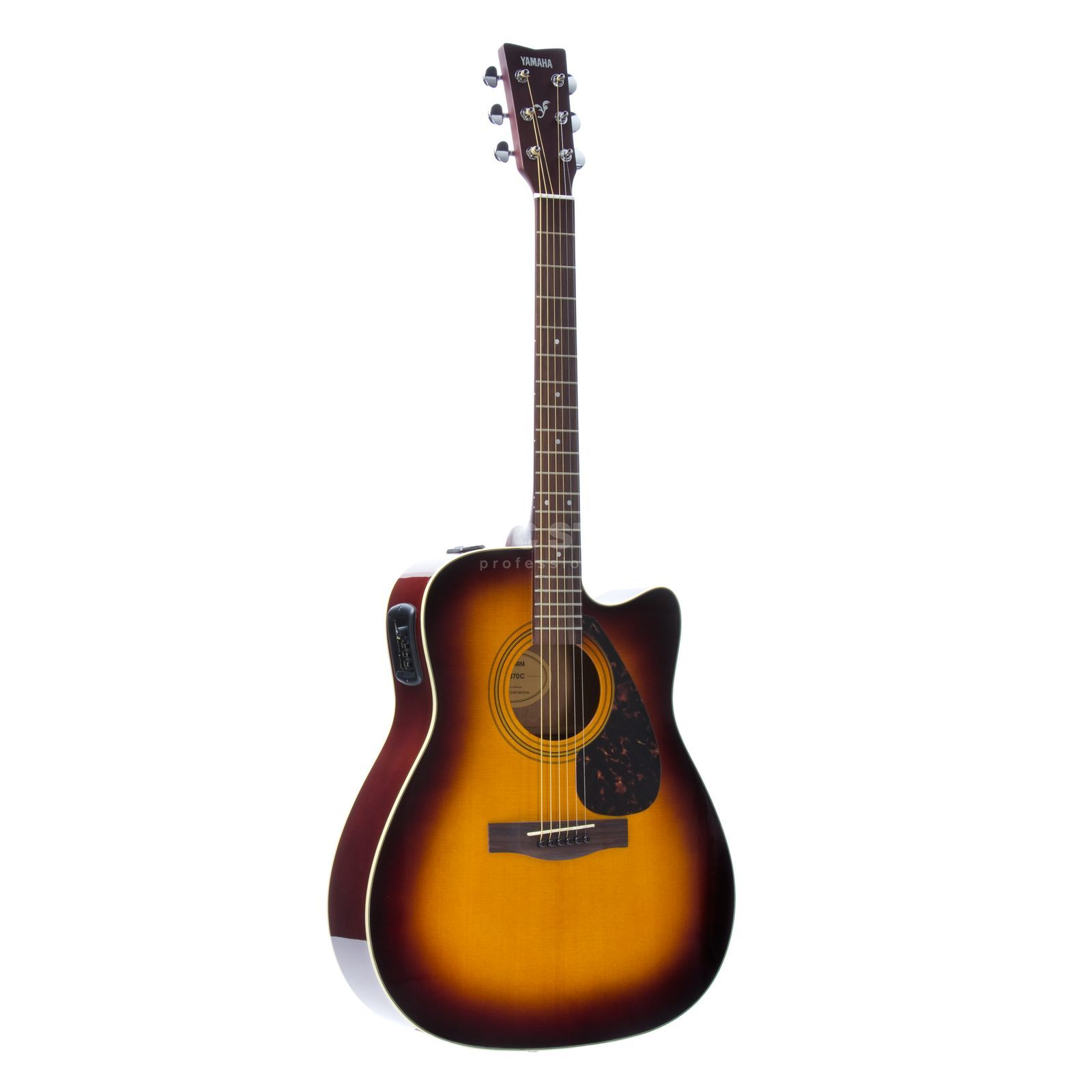 Yamaha FX 370 C TBS Cut., Tobacco Brown Sunburst Produktbild