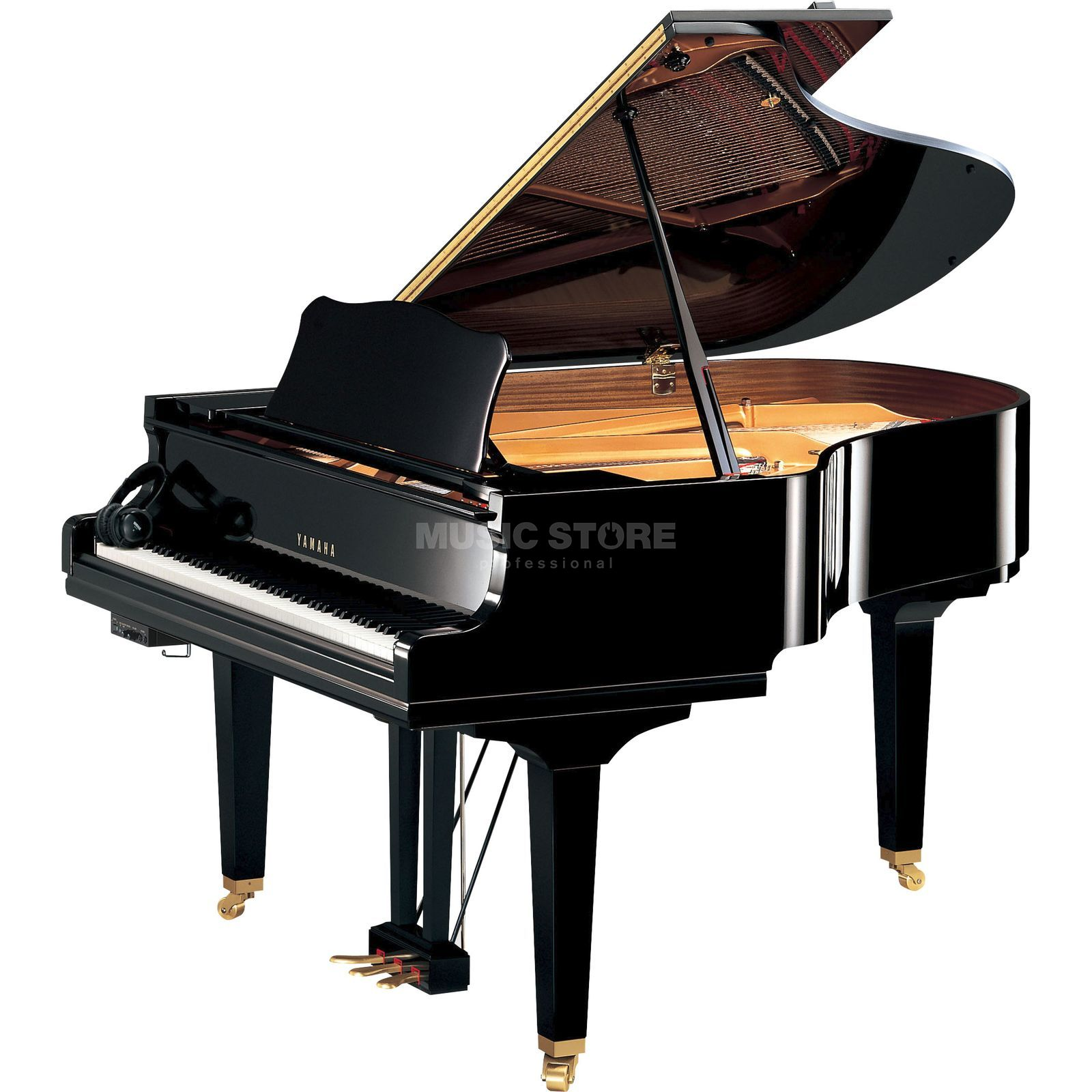 Yamaha GC 2 SG PE Silent Grand 173cm, Black polished Produktbillede