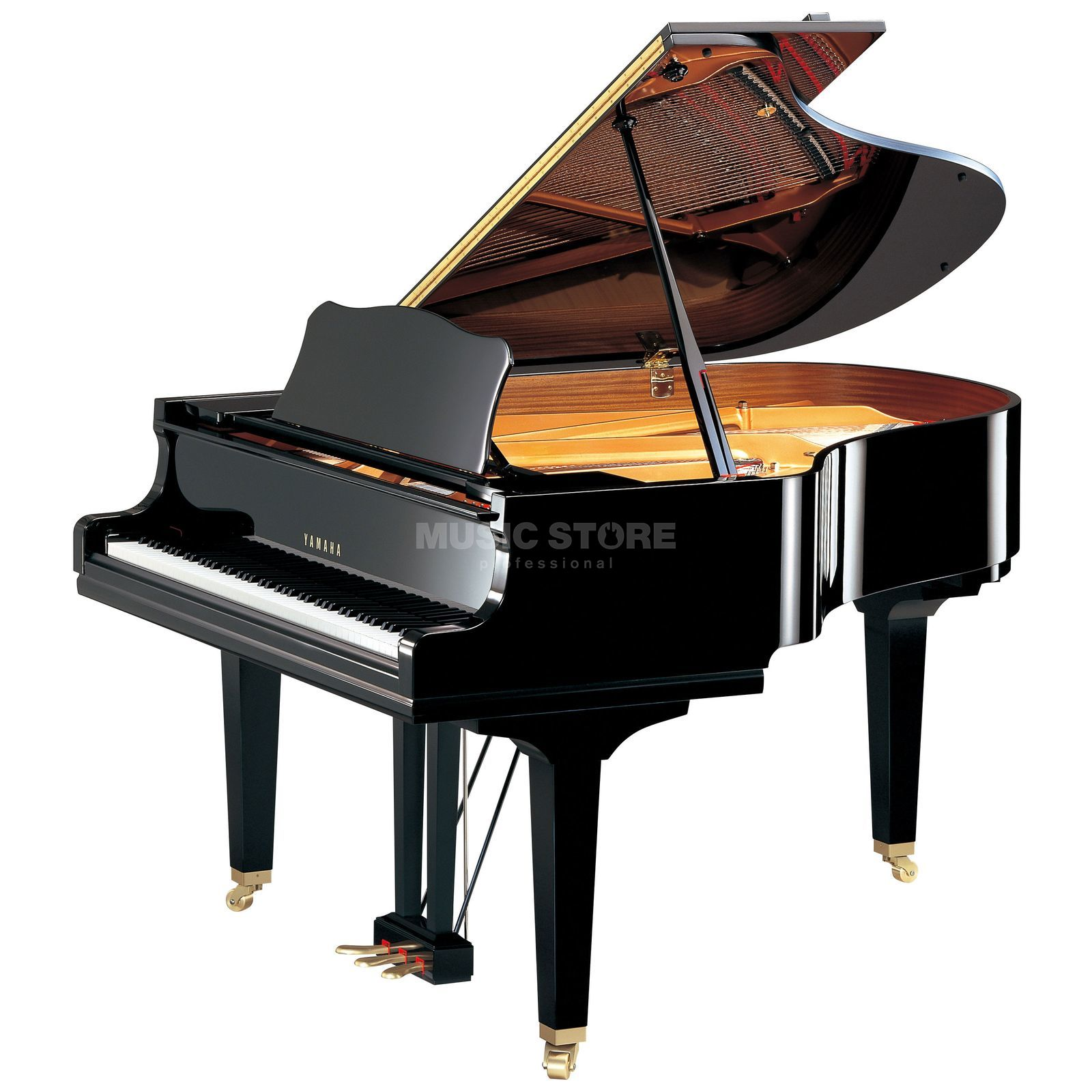 Yamaha GC2 PE Grand  173cm Black polished Produktbillede