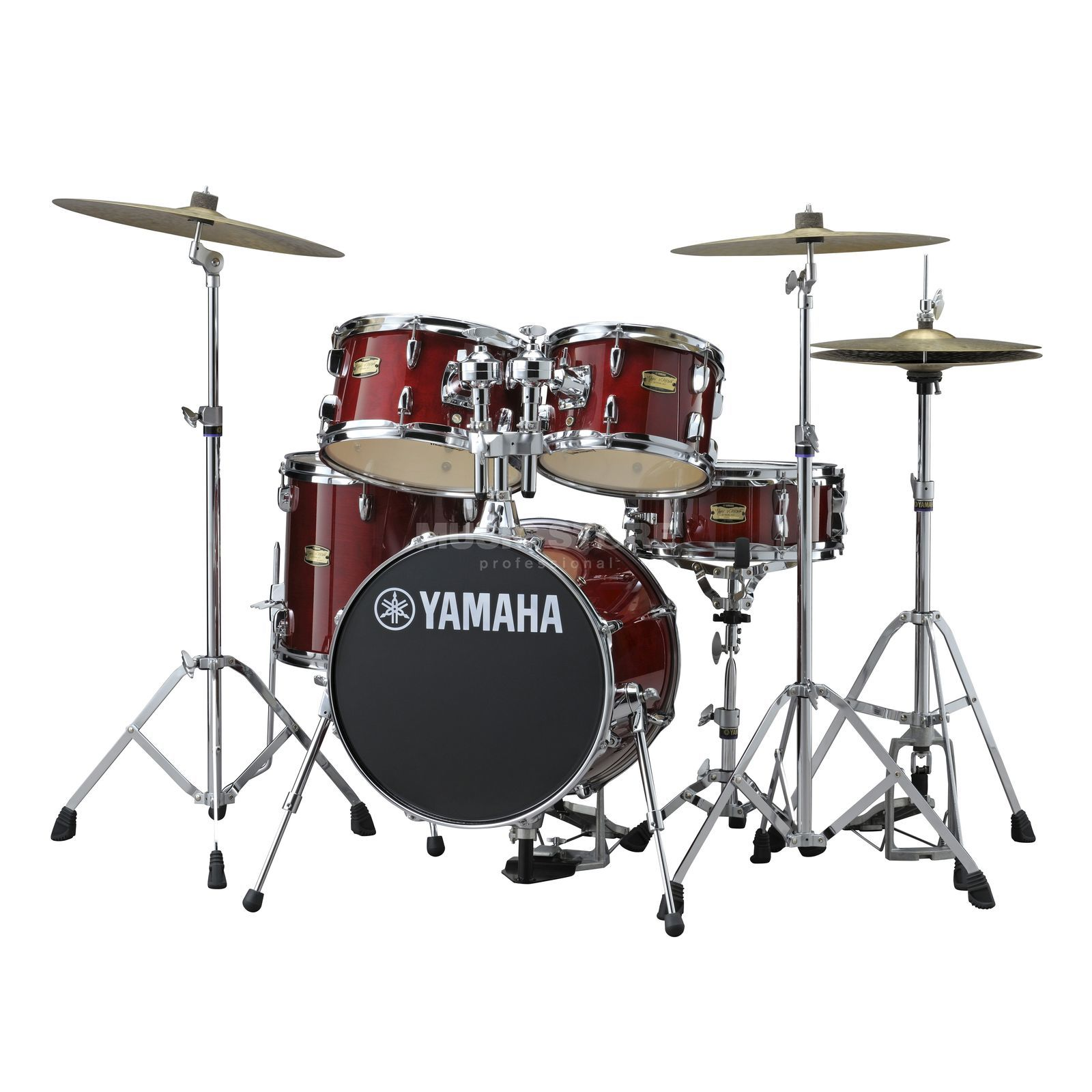 Yamaha Manu Katché Junior Kit JK6F5, Cranberry Red Produktbild