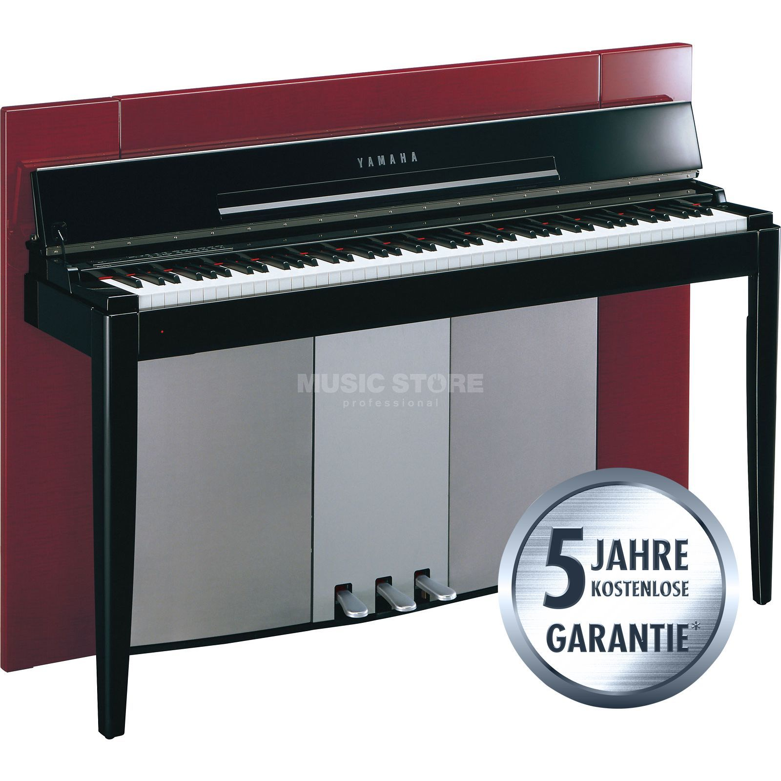 Yamaha Modus F02 PR Digital Piano Polished Red Zdjęcie produktu